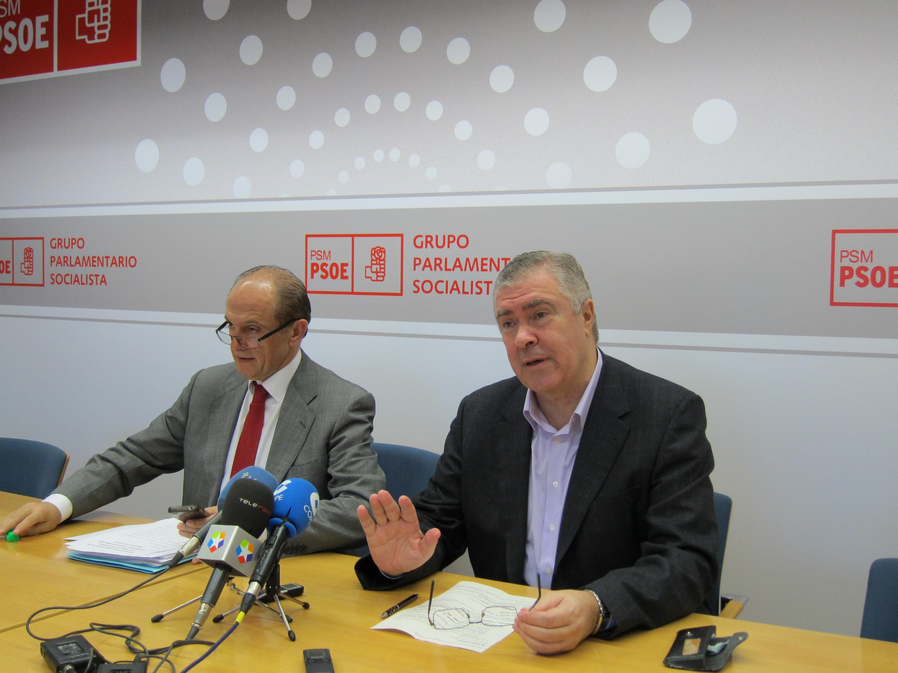 La Asamblea de Madrid nombra a Quintana senador en sustitución de Tomás Gómez