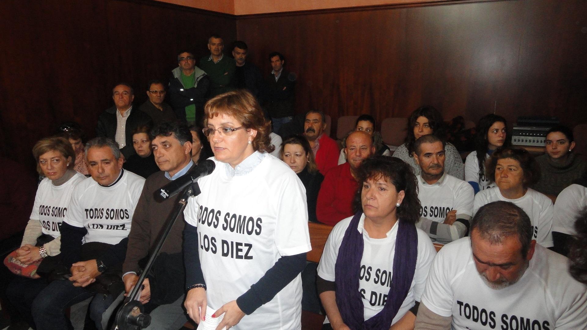 Ayuntamiento de Puerto Real (Cádiz) apoya el manifiesto de las familias de detenidos por destrozos en el puente