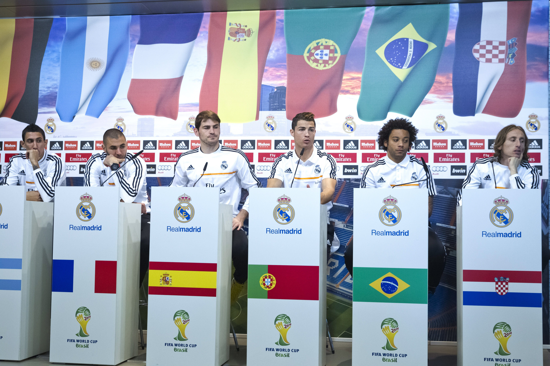 Los jugadores del Real Madrid sellan un pacto de buena conducta