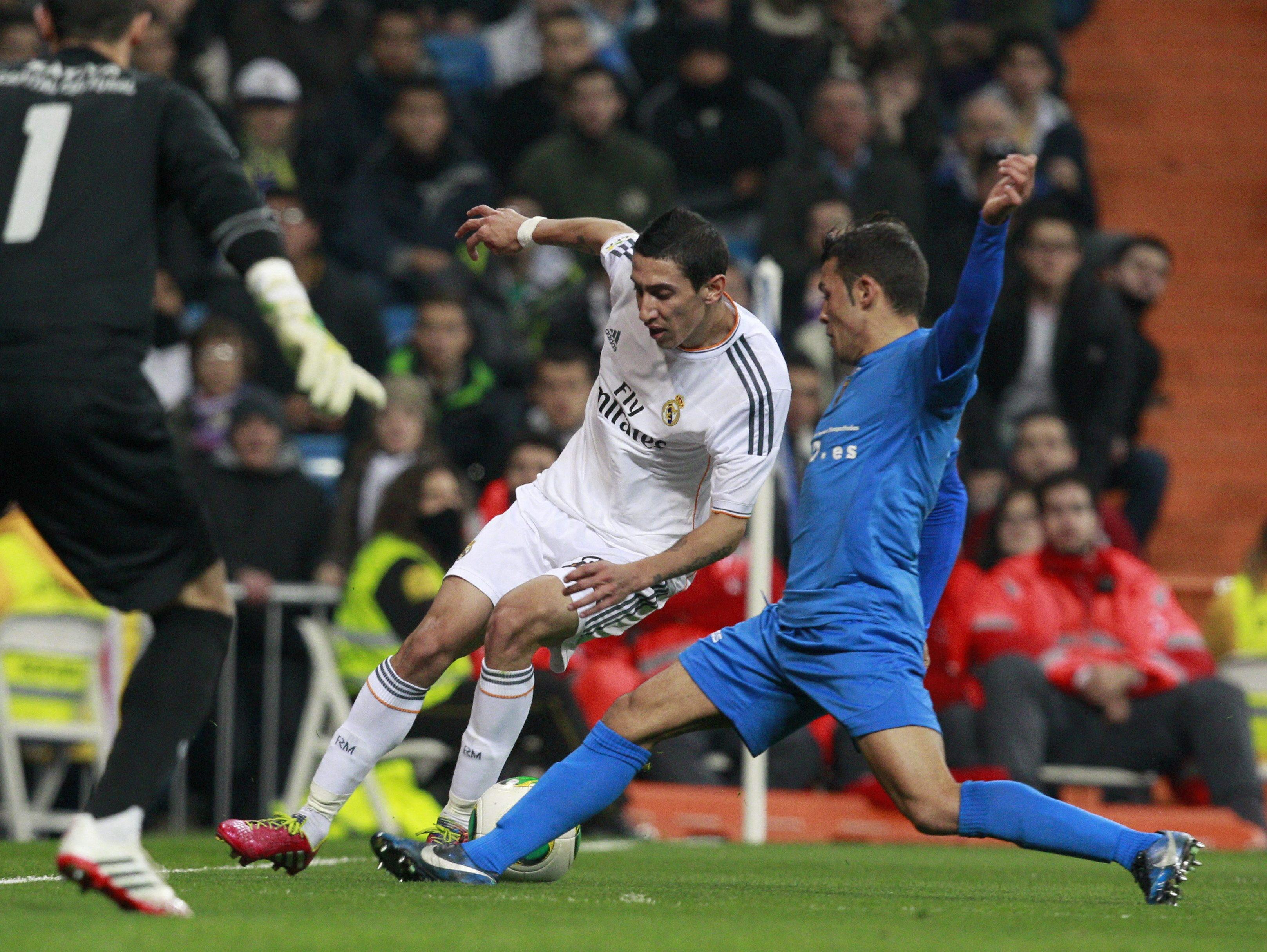 El penalti de Di María contra el Xátiva es un regalo de sus compañeros por pedir perdón