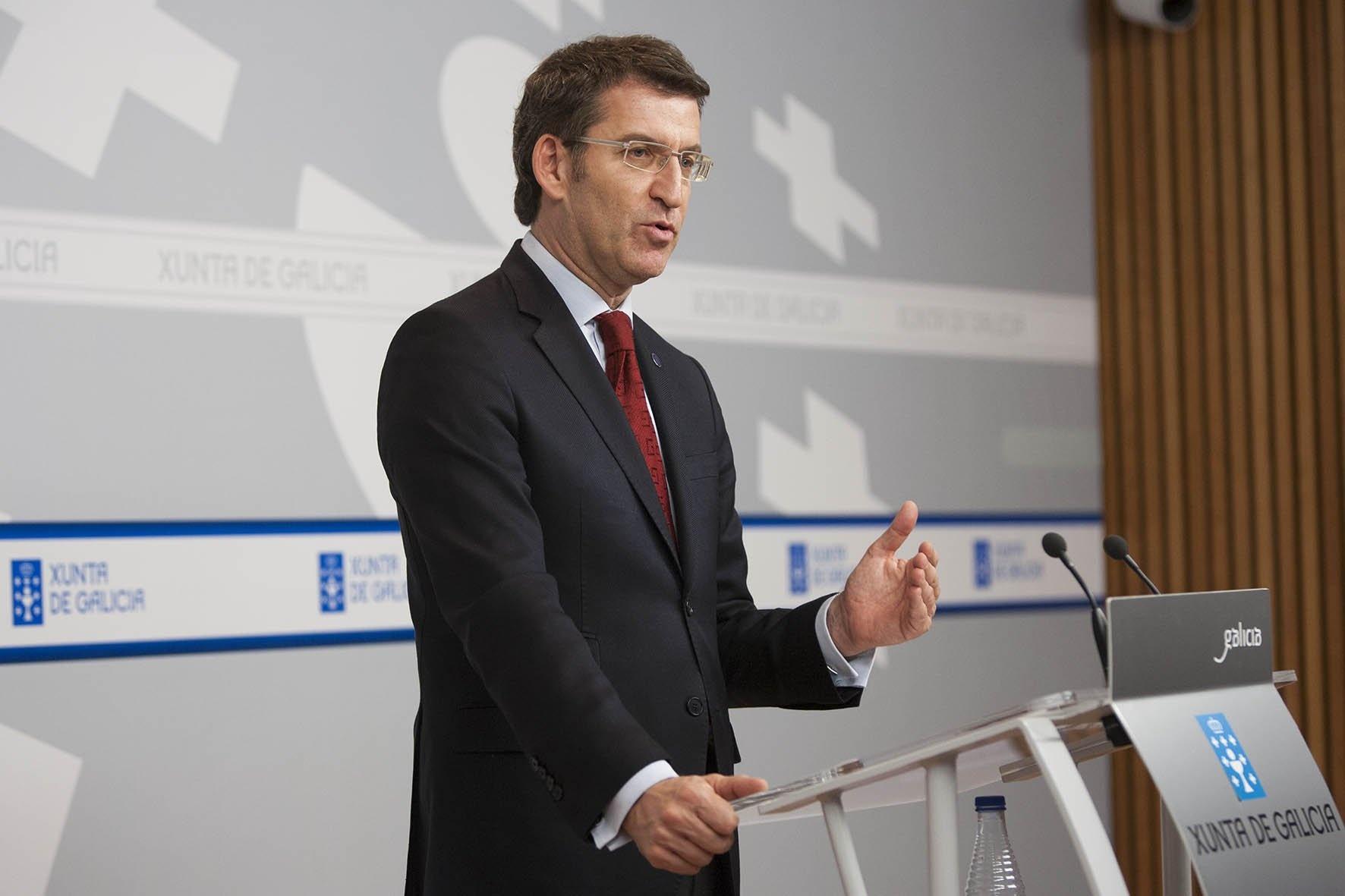 Feijóo erige la oferta de Banesco en «la mejor para todos» y rechaza que se ligue a «criterios políticos»