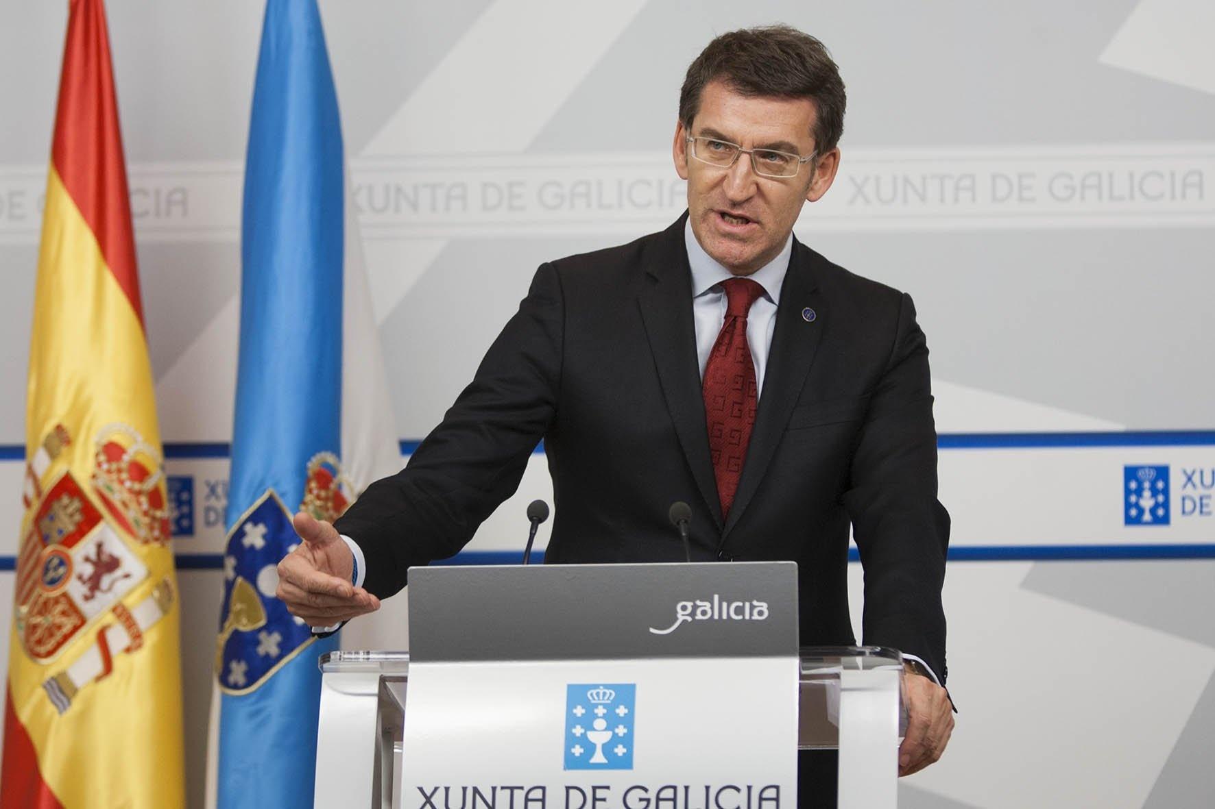 Feijóo ve «patética» la situación de Ourense y pide al PP apoyar las cuestiones «interesantes» para la ciudad