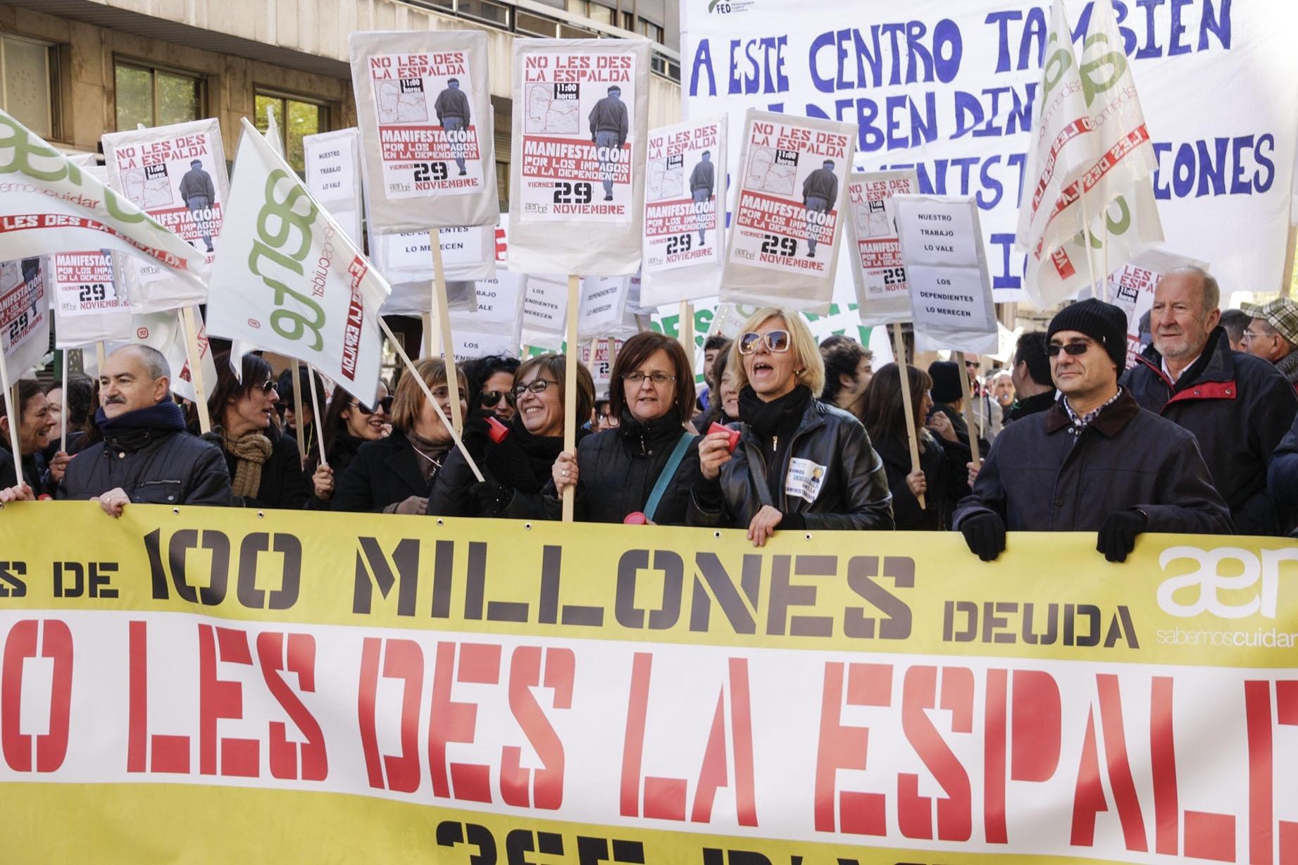 La Generalitat comunica a Aerte el pago de 25 millones de los 100 de deuda acumulada con centros y residencias