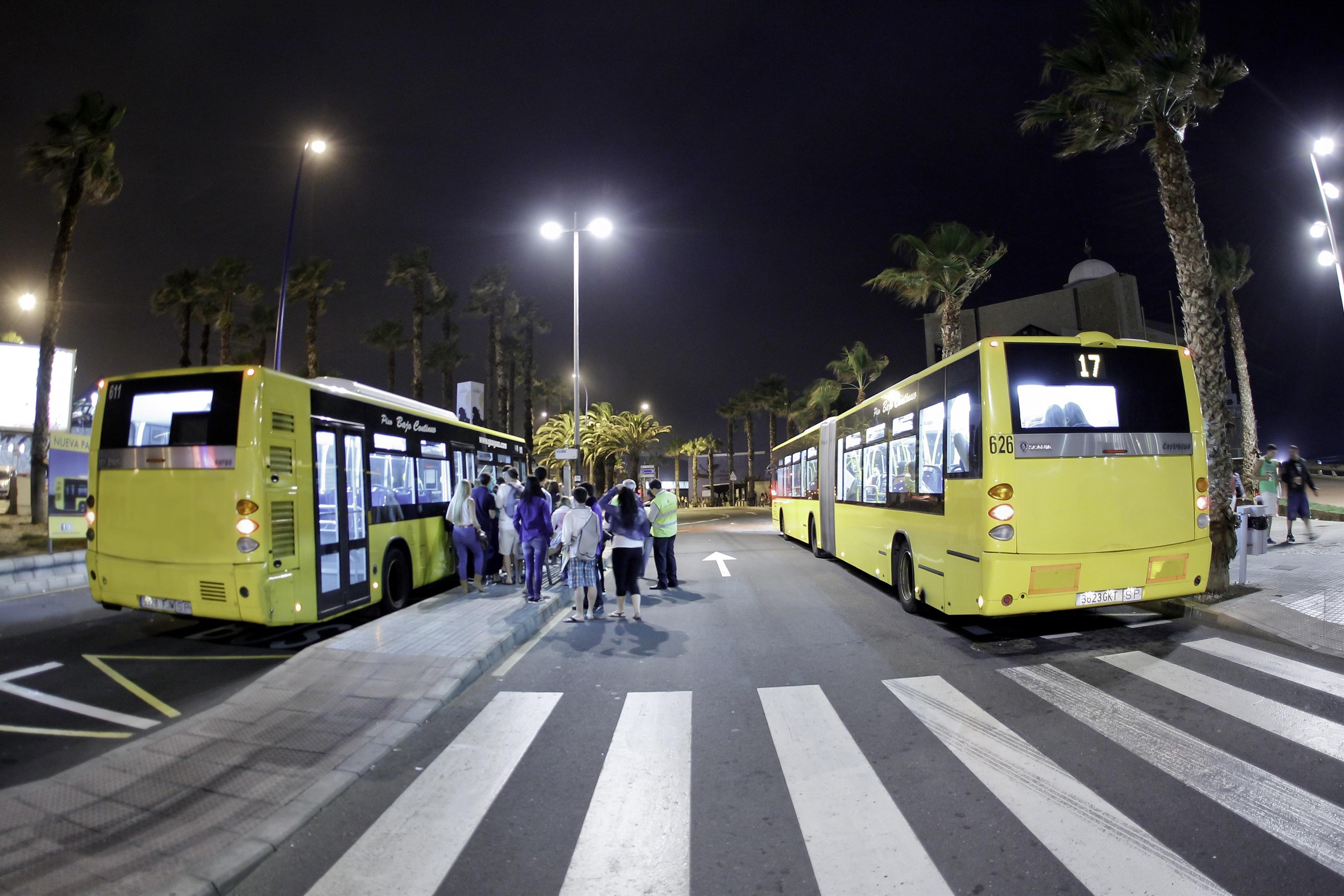 Guaguas Municipales de Las Palmas de Gran Canaria aumenta la rapidez de 25 líneas gracias a las »paradas dobles»