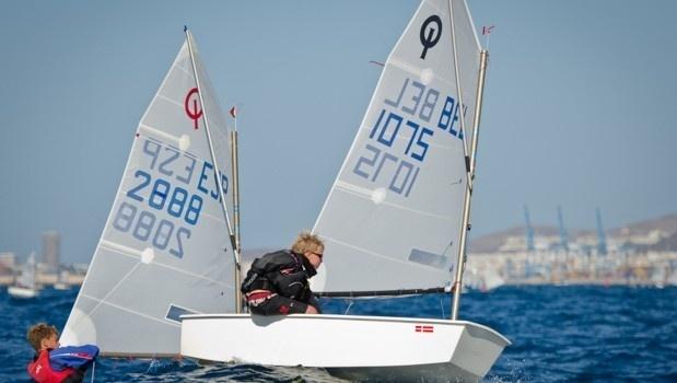 Las Palmas de Gran Canaria despedirá el 2013 con la Regata AECIO donde se conocerá al campeón en clase Optimist de Vela