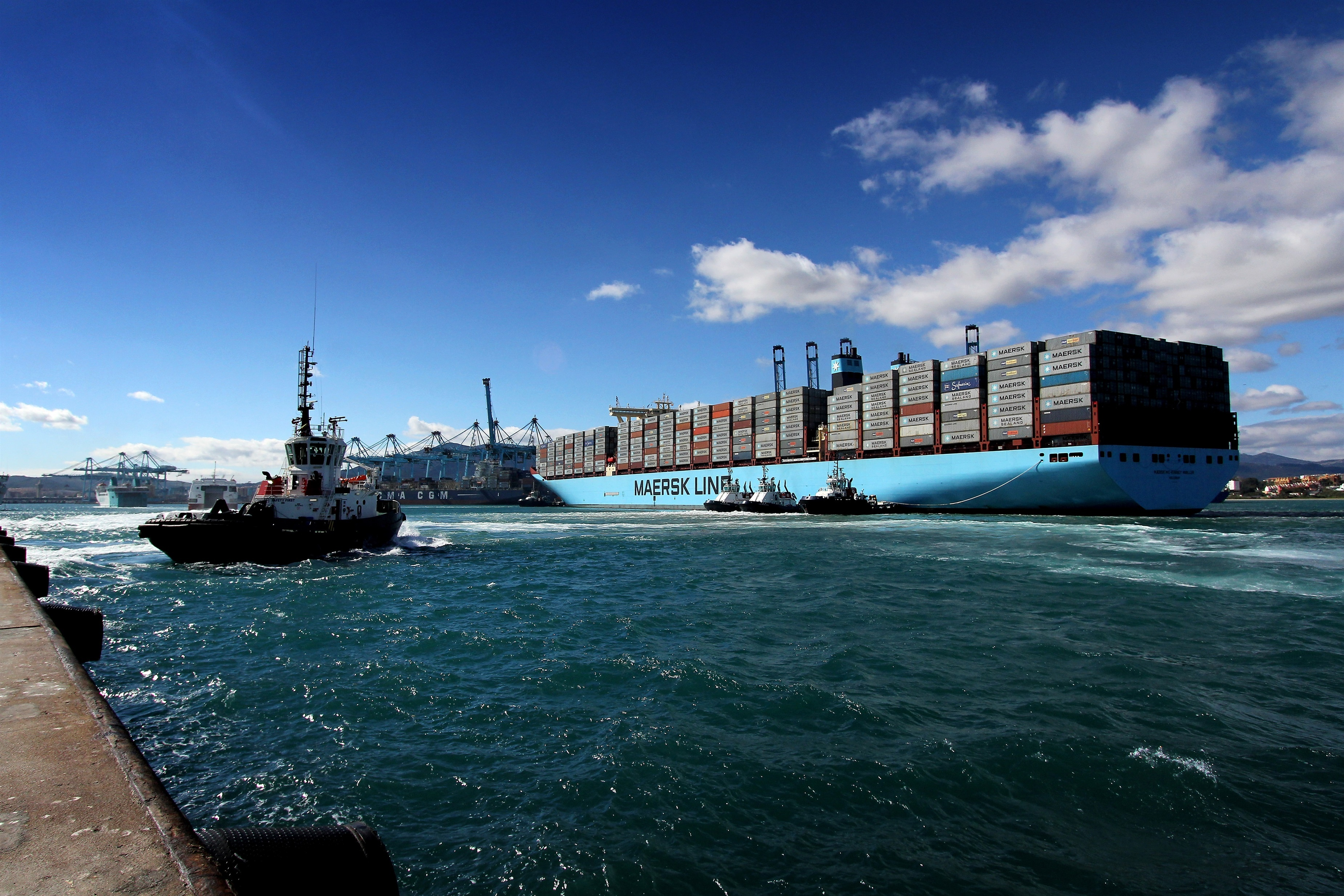 El Puerto Bahía de Algeciras cerrará el año con un tráfico total de 90 millones de toneladas