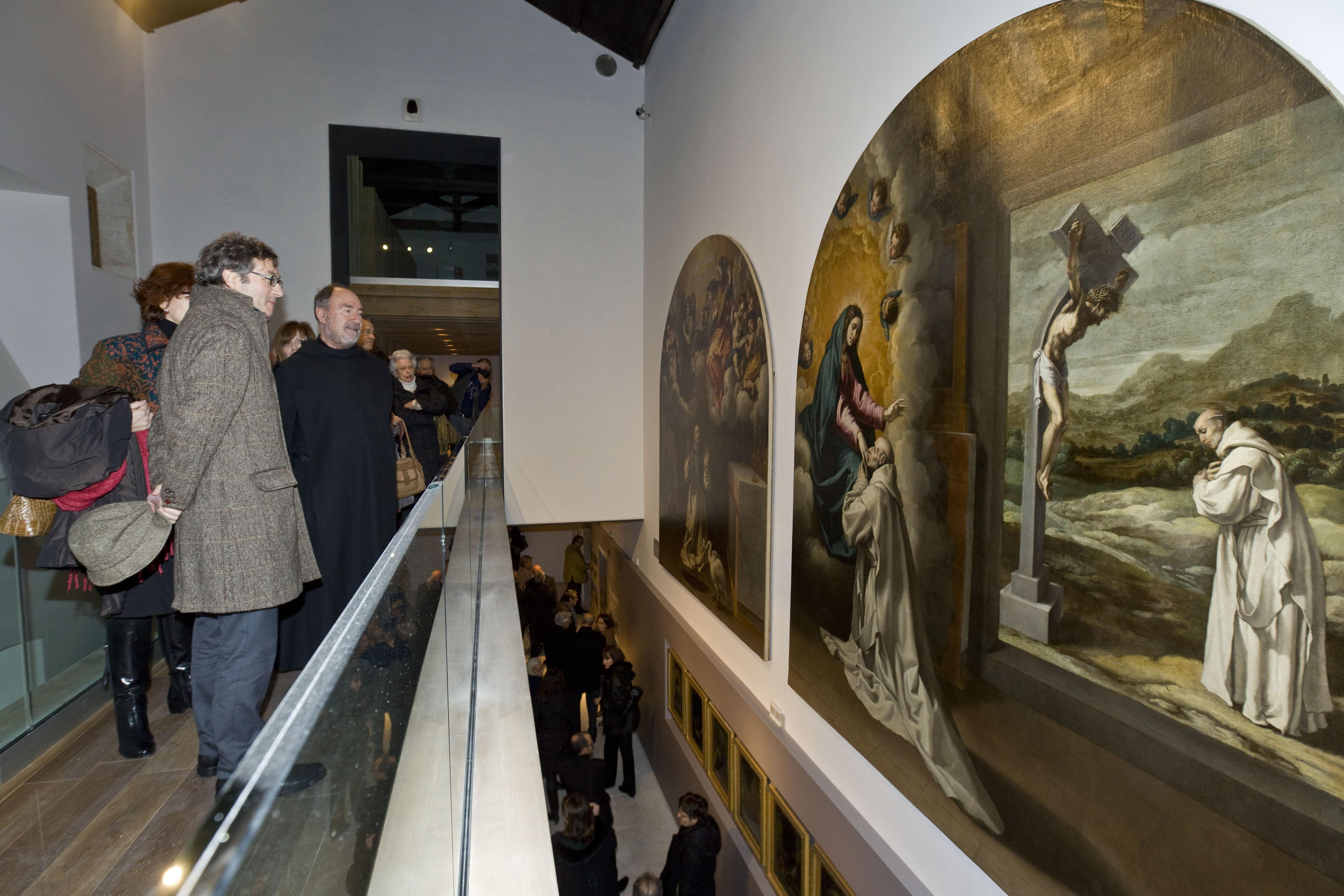 La muestra »La Recuperación de El Paular» recorre los proyectos de restauración del monasterio en los últimos 25 años
