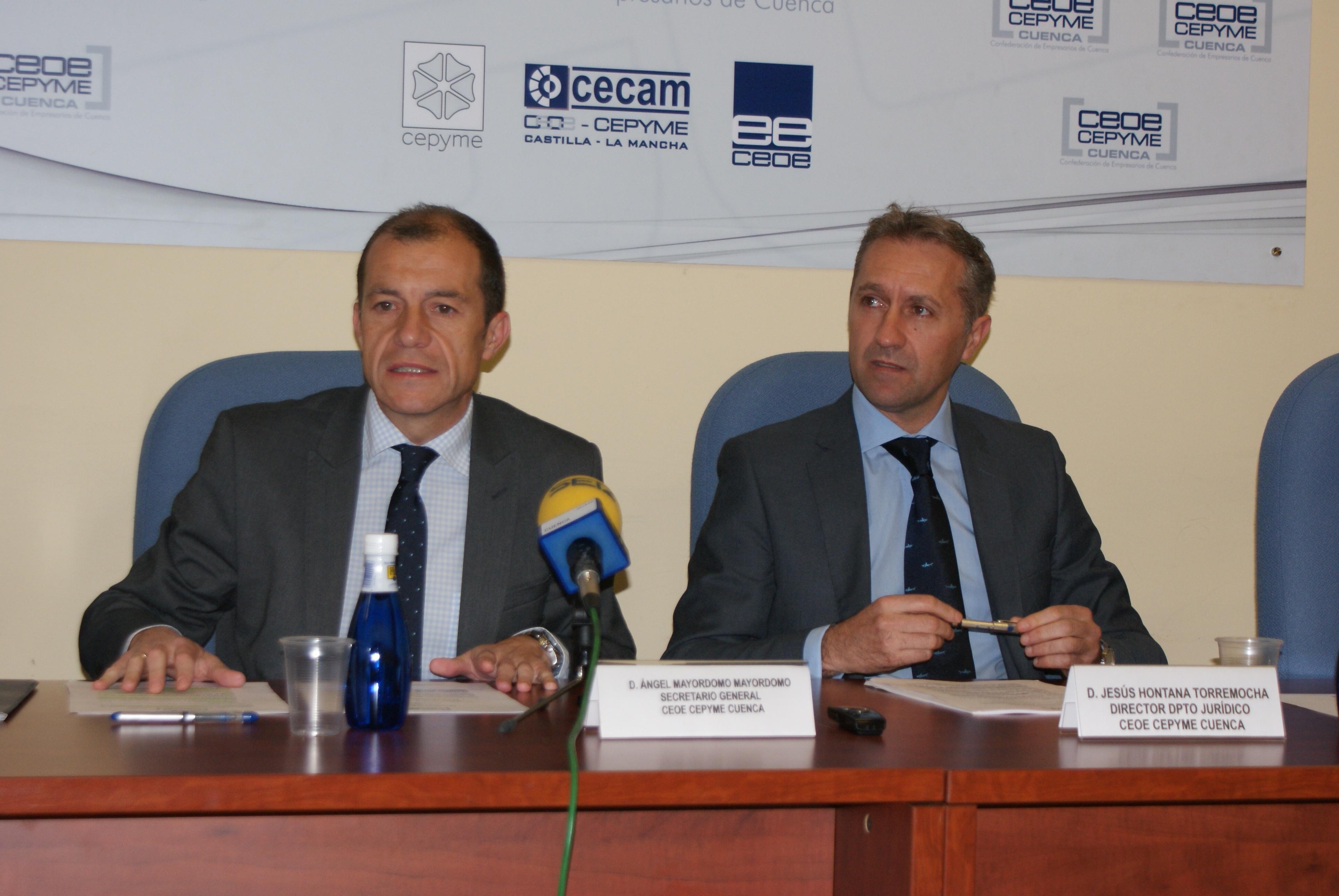Representantes de 49 asociaciones elegirán nueva directiva de CEOE-Cepyme Cuenca el próximo 24 de enero