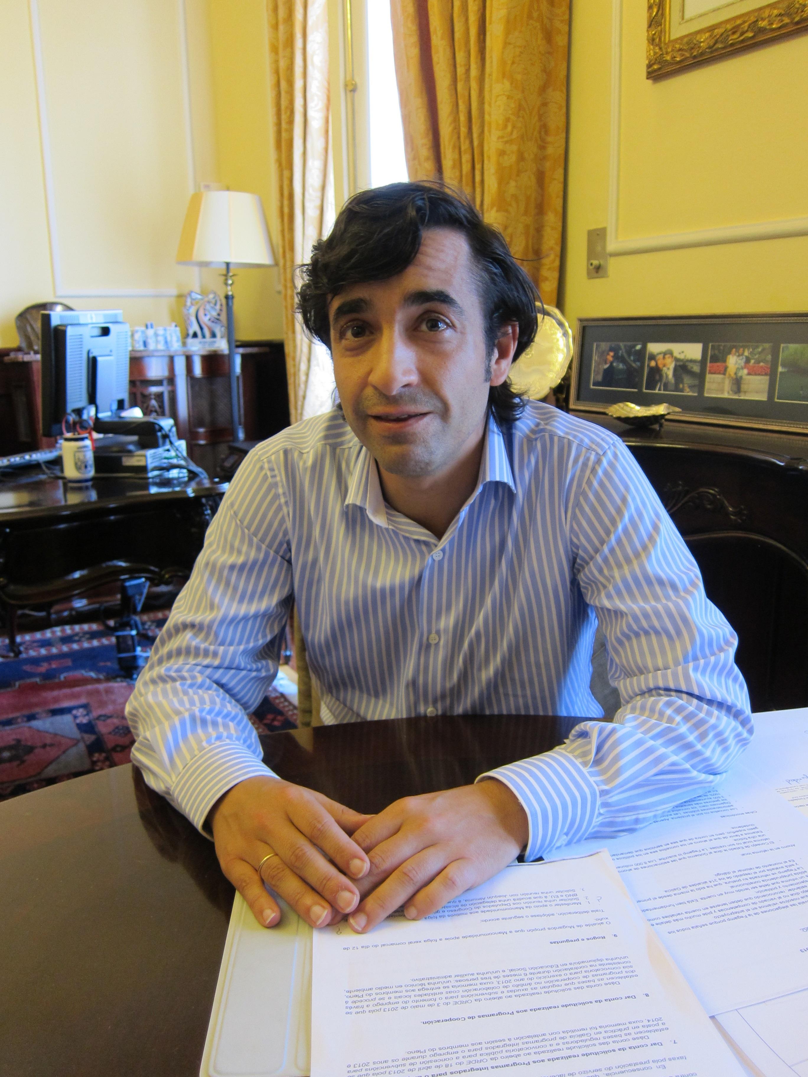 Rey Varela «reconoce» la «mala gestión» del PP «en Madrid» con respecto al naval
