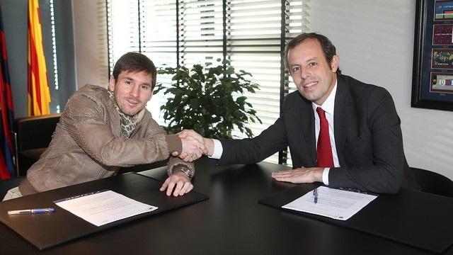 Rosell: «Messi debe ser el mejor pagado porque es el mejor del mundo»