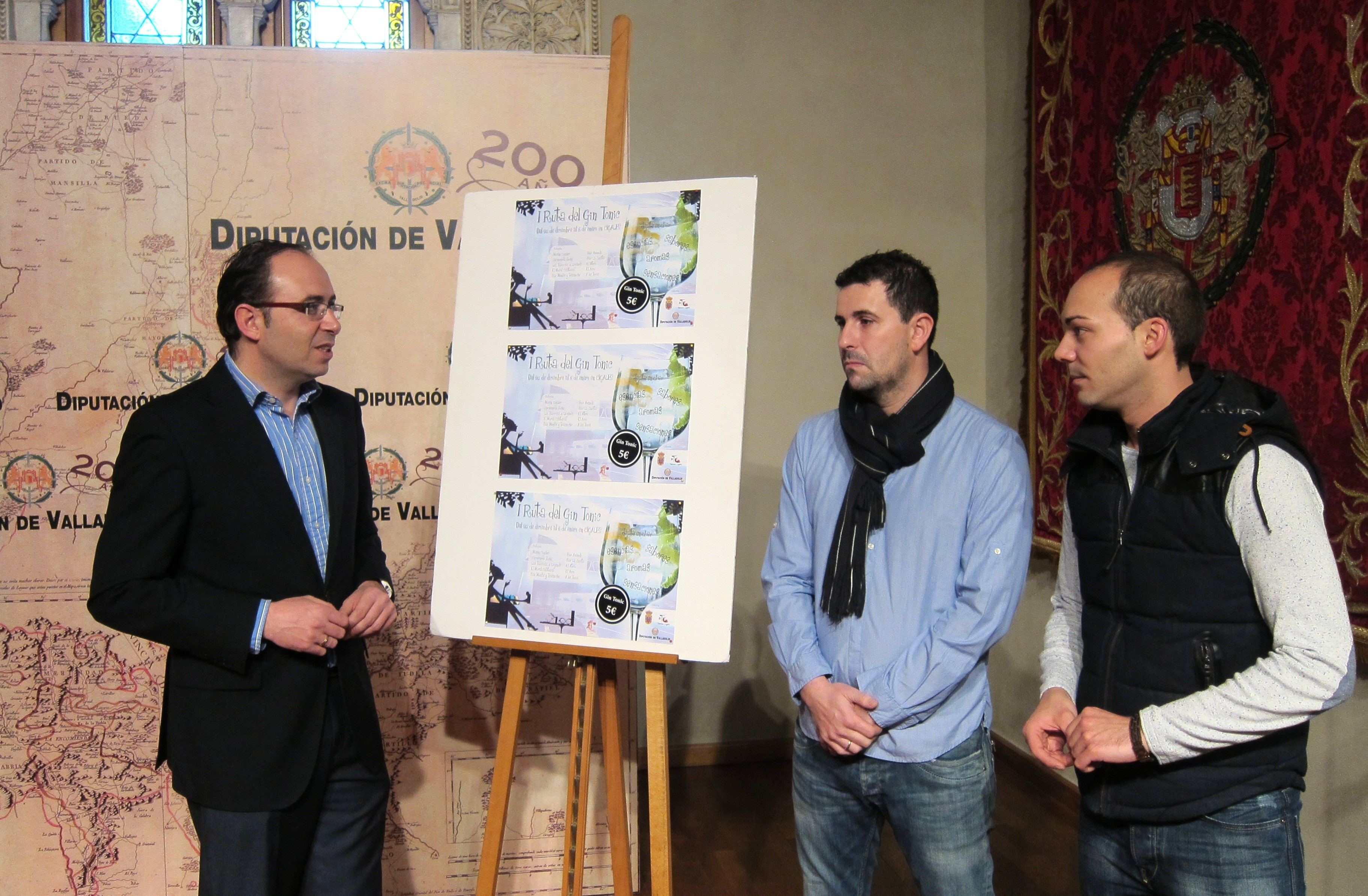 Diez bares elaborarán combinados »premium» durante la celebración de la I Ruta del Gin Tonic de Cigales (Valladolid)