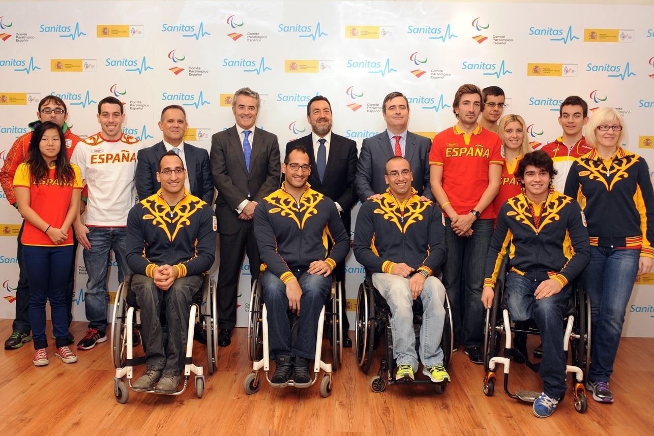 Sanitas renueva como proveedor médico oficial y patrocinador del Plan ADO Paralímpico para Río 2016