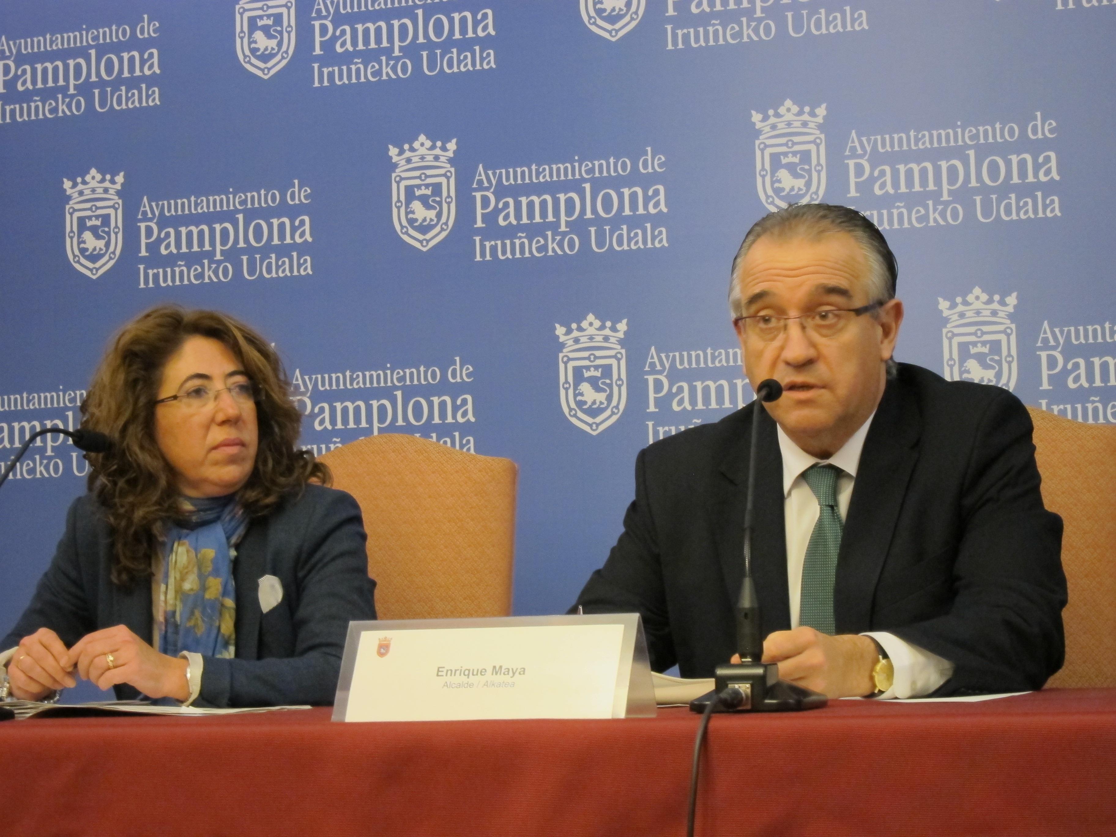 Las zonas comerciales de Pamplona contarán con mayor vigilancia policial contra los hurtos en Navidad