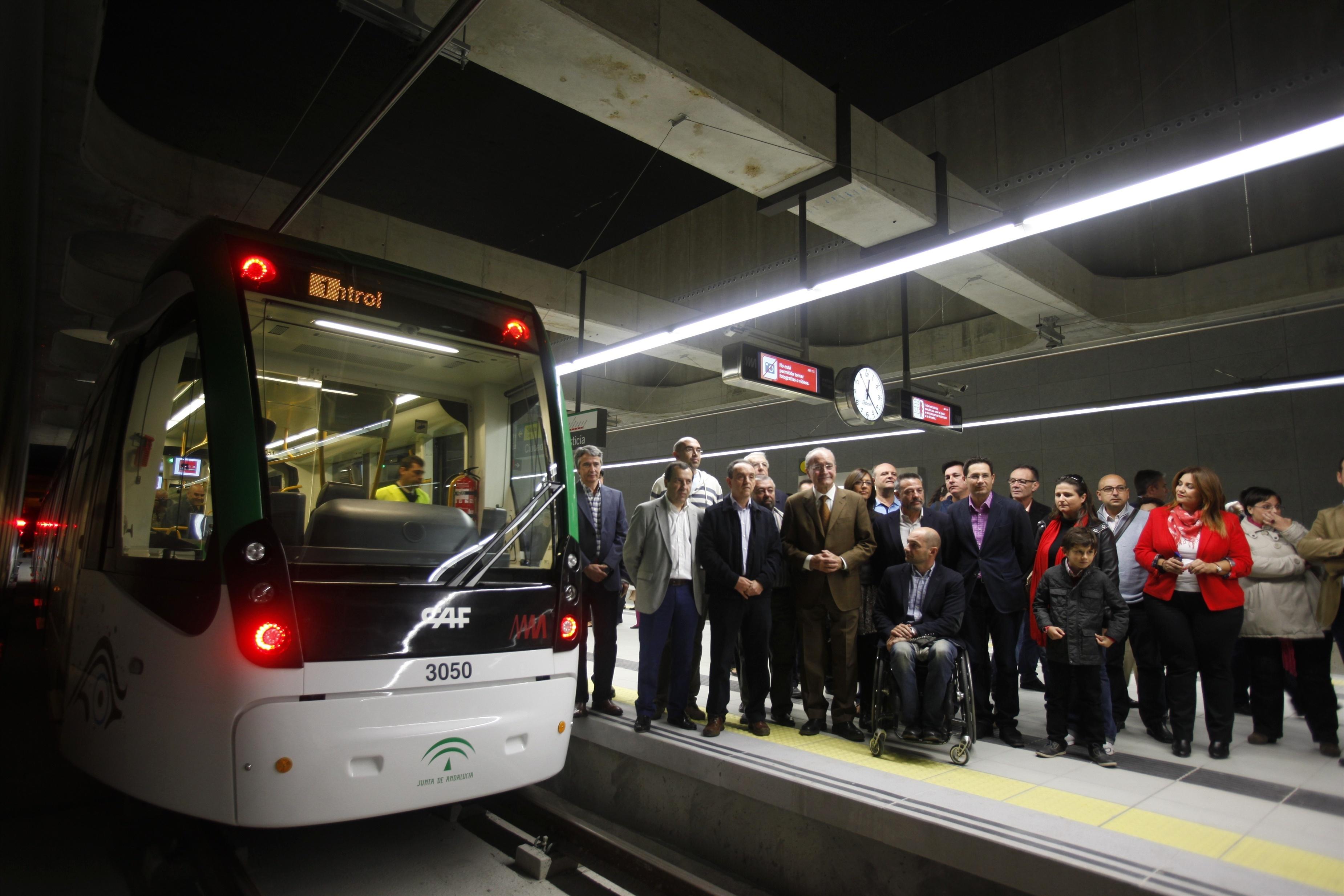 La reserva de plazas ofertadas para la jornada de pruebas con viajeros del metro alcanza el 92%