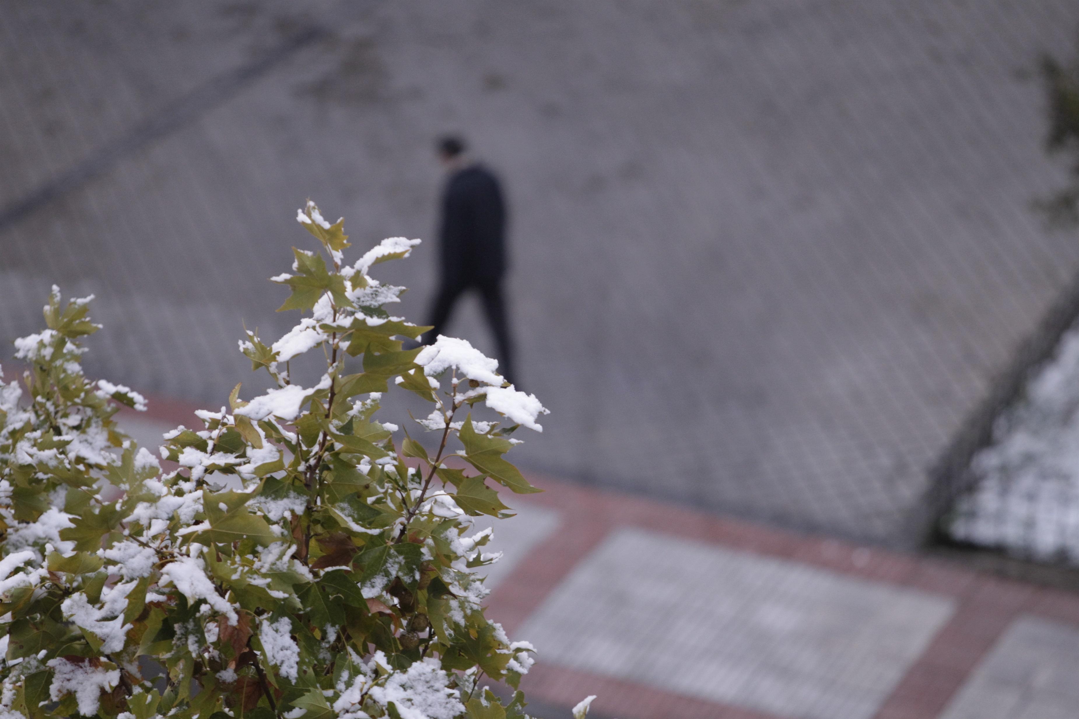 Activado el Plan de Inclemencias Ambientales por previsión de nieve en la sierra para este miércoles, día de Navidad