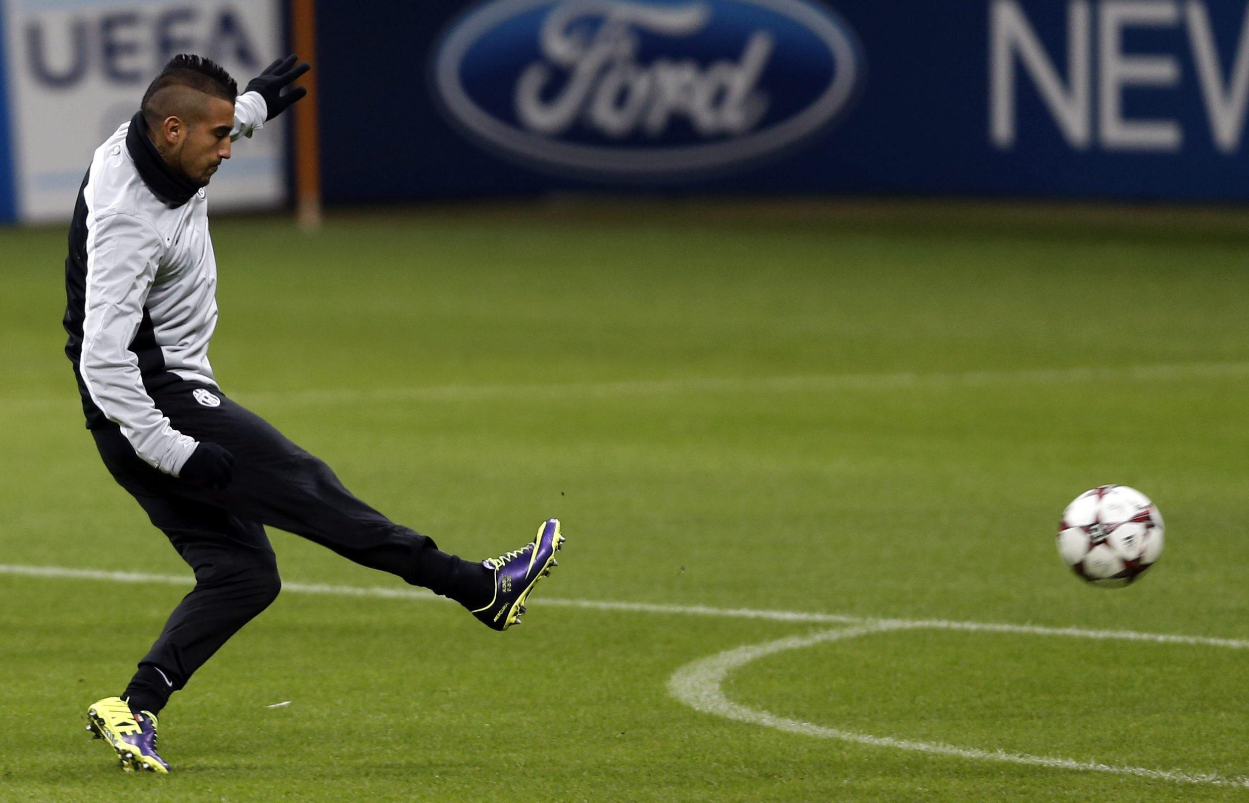 El chileno Arturo Vidal quiere ganar el Balón de Oro del próximo 2014