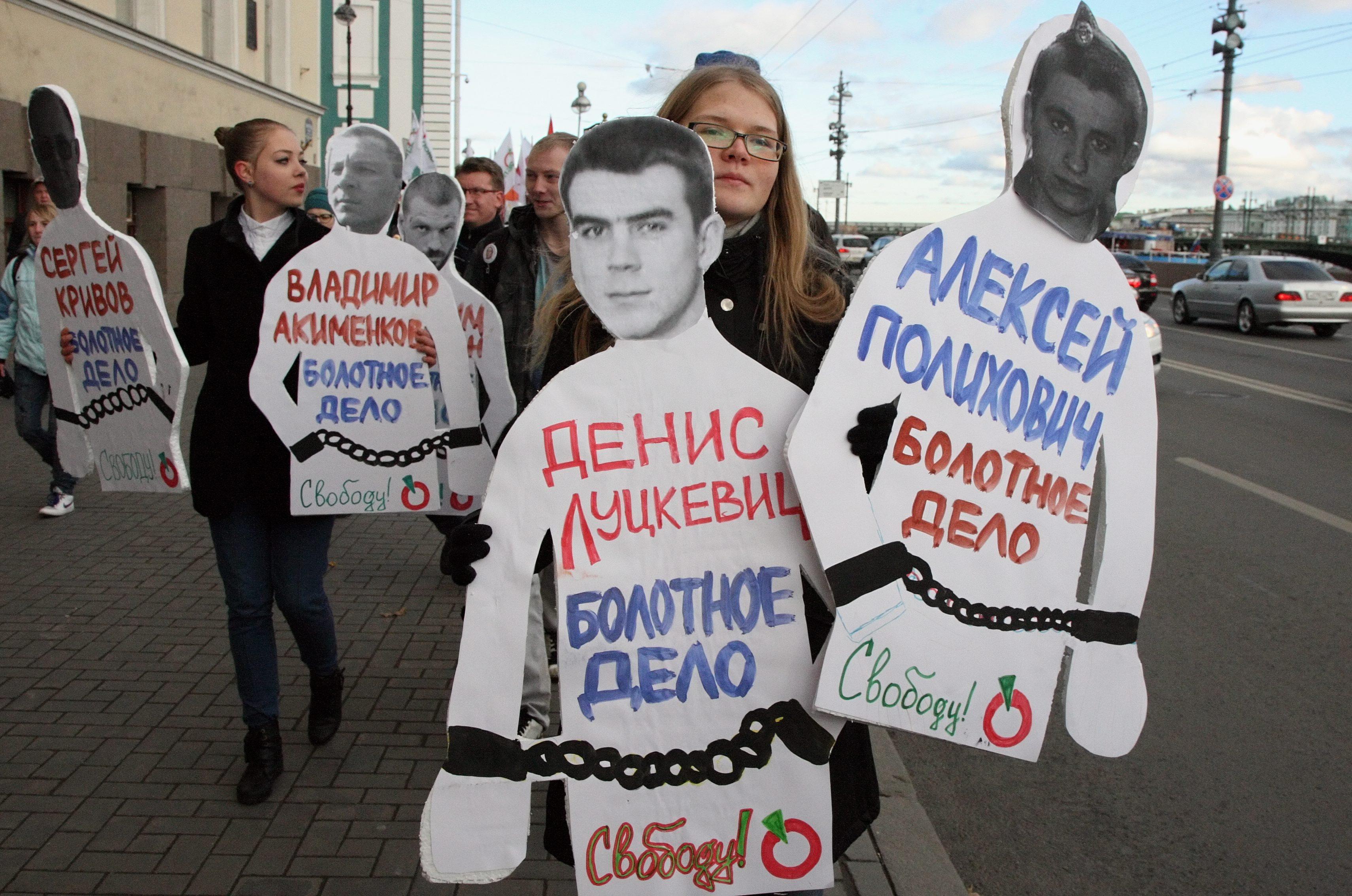 Autoridades rusas rectifican información sobre la liberación de tres opositores