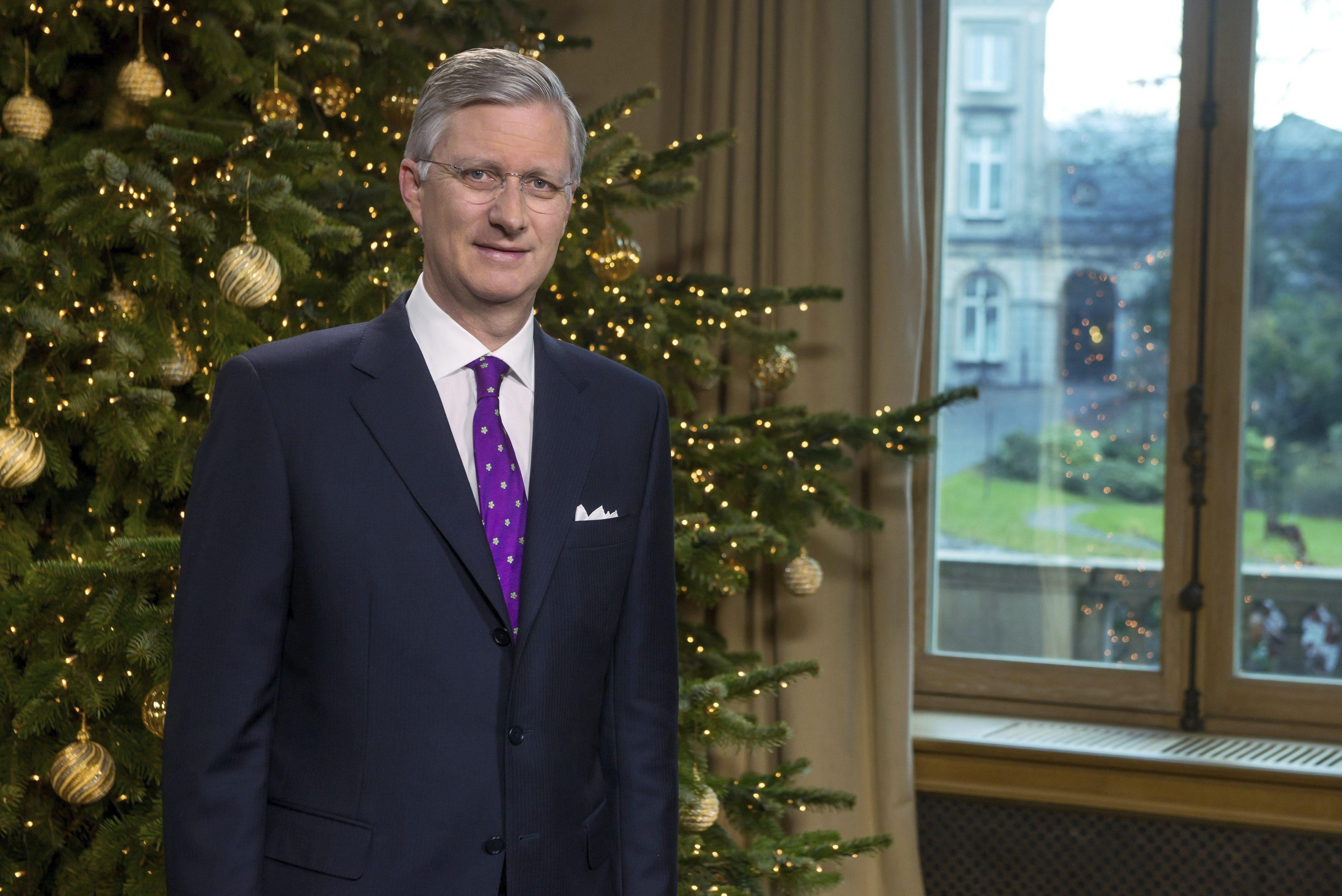 El rey Felipe de Bélgica dedica su primer discurso de Navidad al desempleo