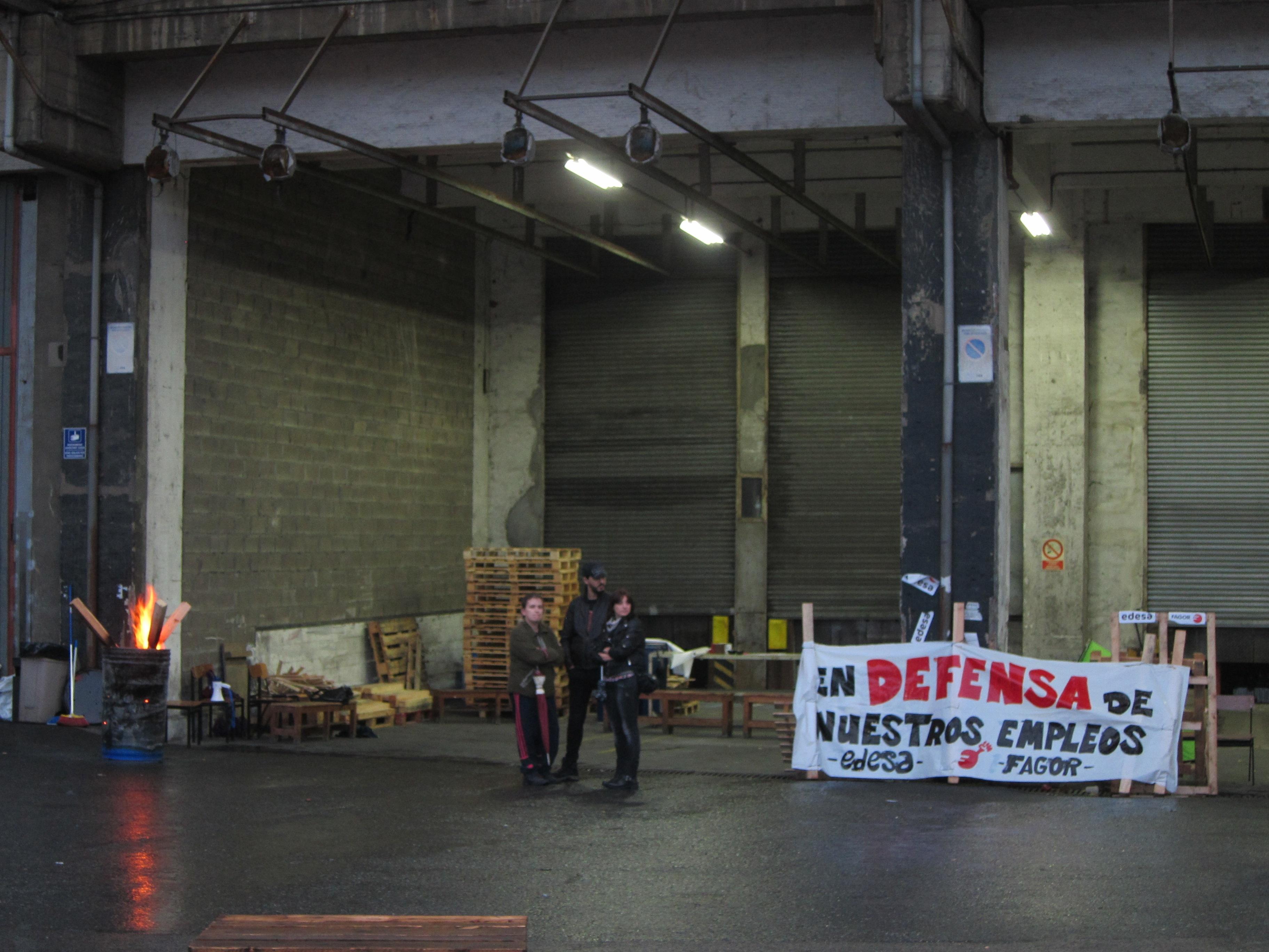 Trabajadores de Edesa pasarán la Nochebuena encerrados en la empresa en defensa de sus puestos de trabajo