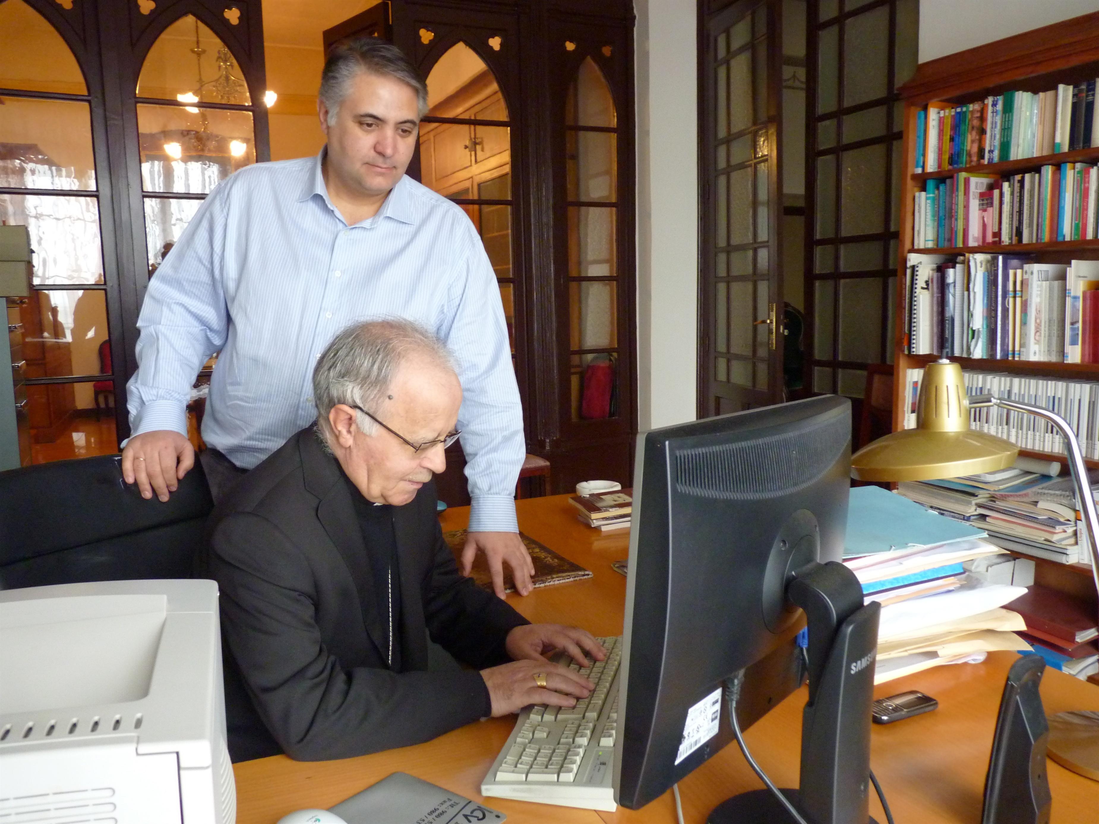 El obispo de Zamora estrena su perfil en Twitter con un mensaje de felicitación de la Navidad