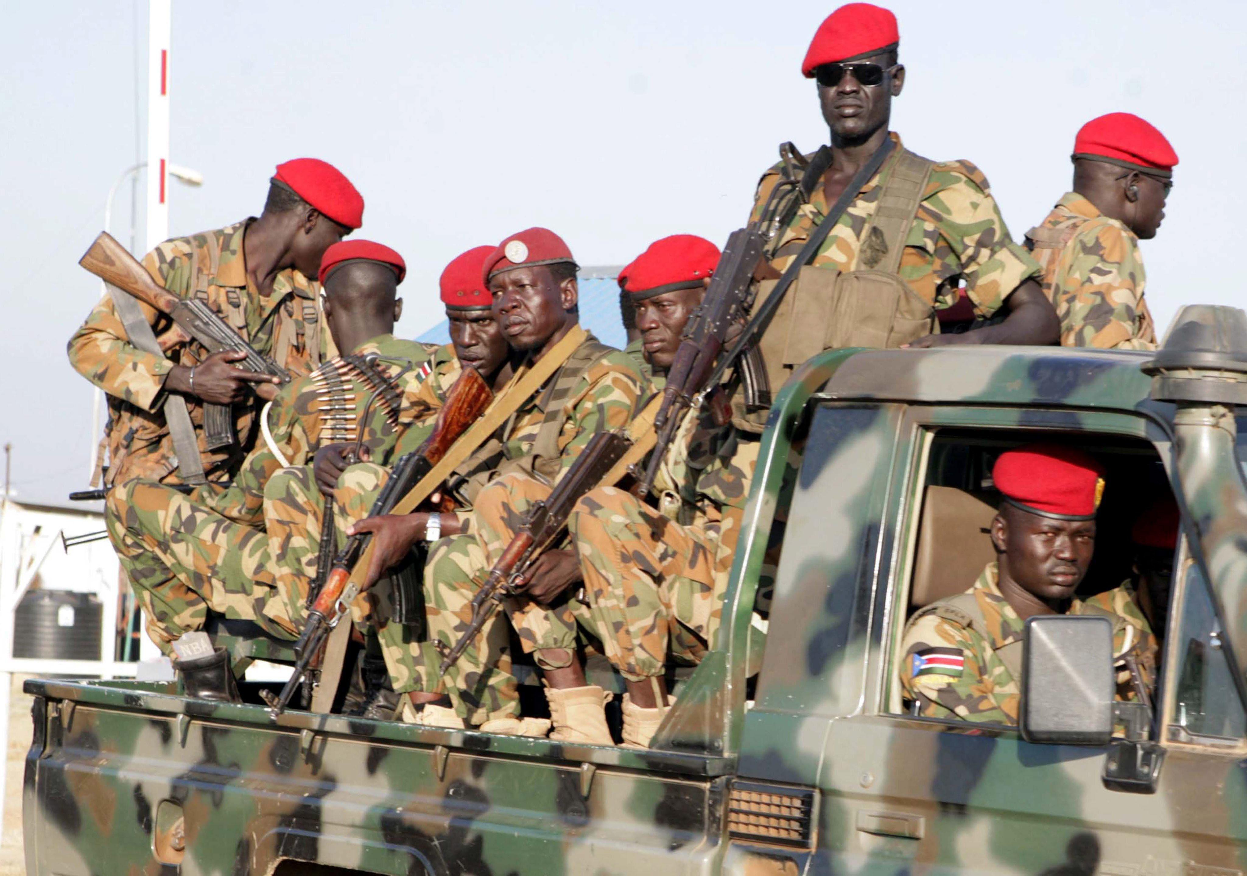 En Sudán del Sur es más fácil encontrar armas que comida