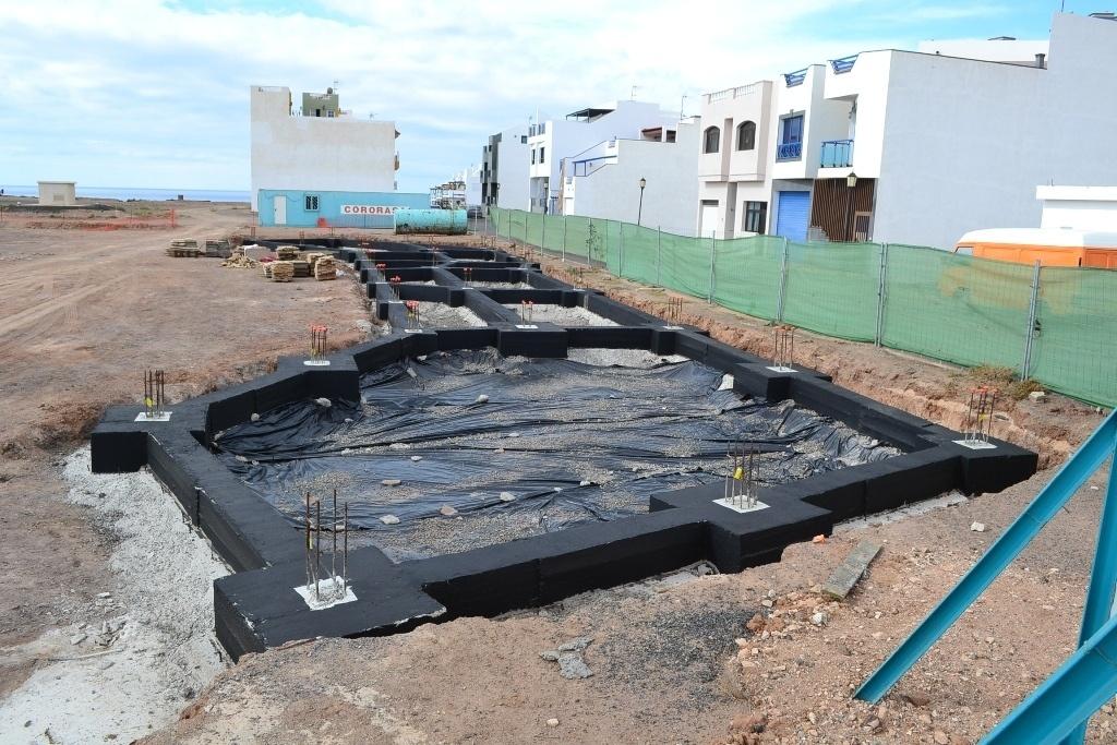 Comienzan las obras de la nueva parada preferente de El Cotillo (Fuerteventura)