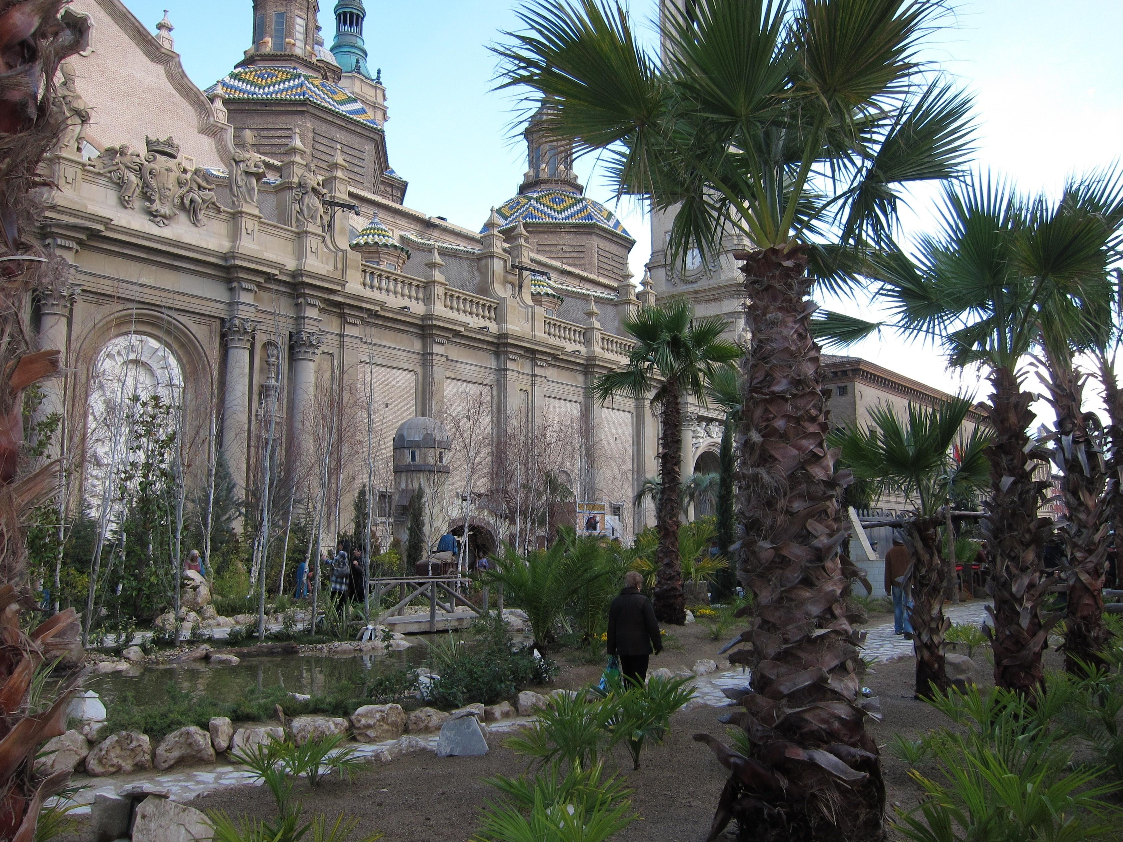 Desaparece el Rey Melchor del Belén de la Plaza del Pilar de Zaragoza