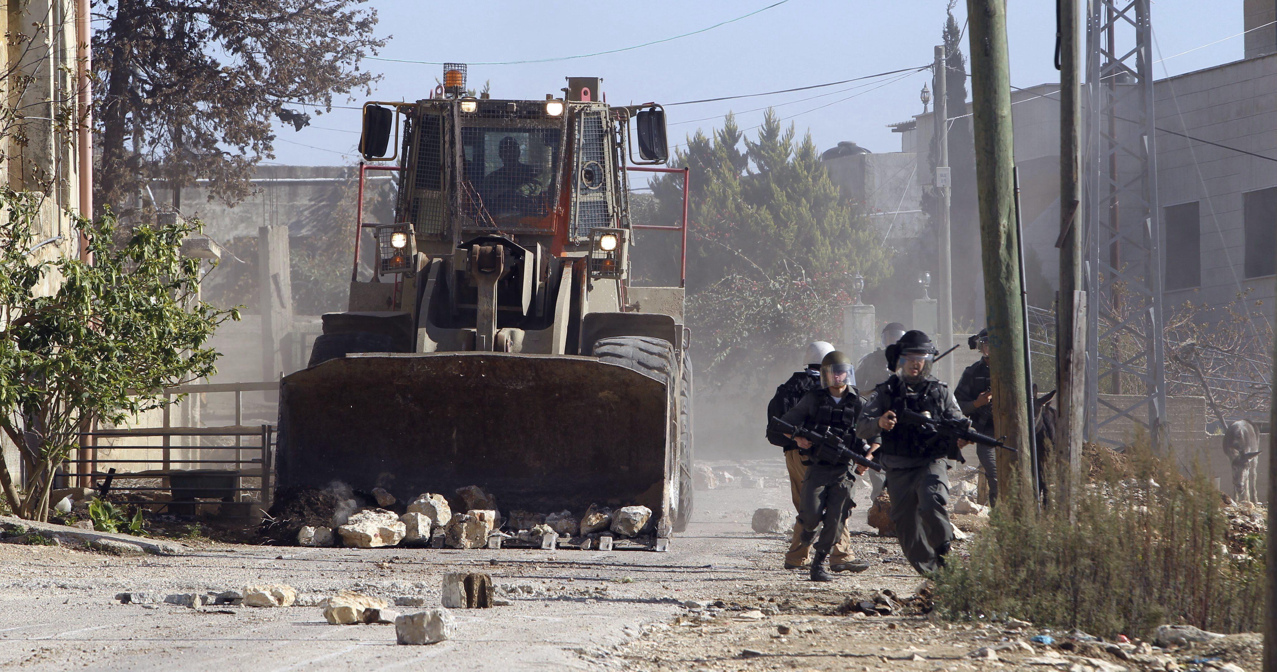 La ONU condena la destrucción de viviendas palestinas antes de Navidad