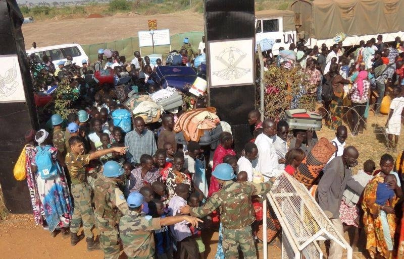 La ONU envía 5.500 »cascos azules» adicionales a Sudán del Sur ante el deterioro de la situación