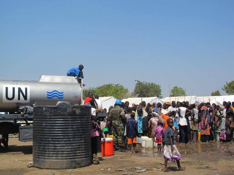 La ONU envía 5.500 »cascos azules» adicionales a Sudán del Sur