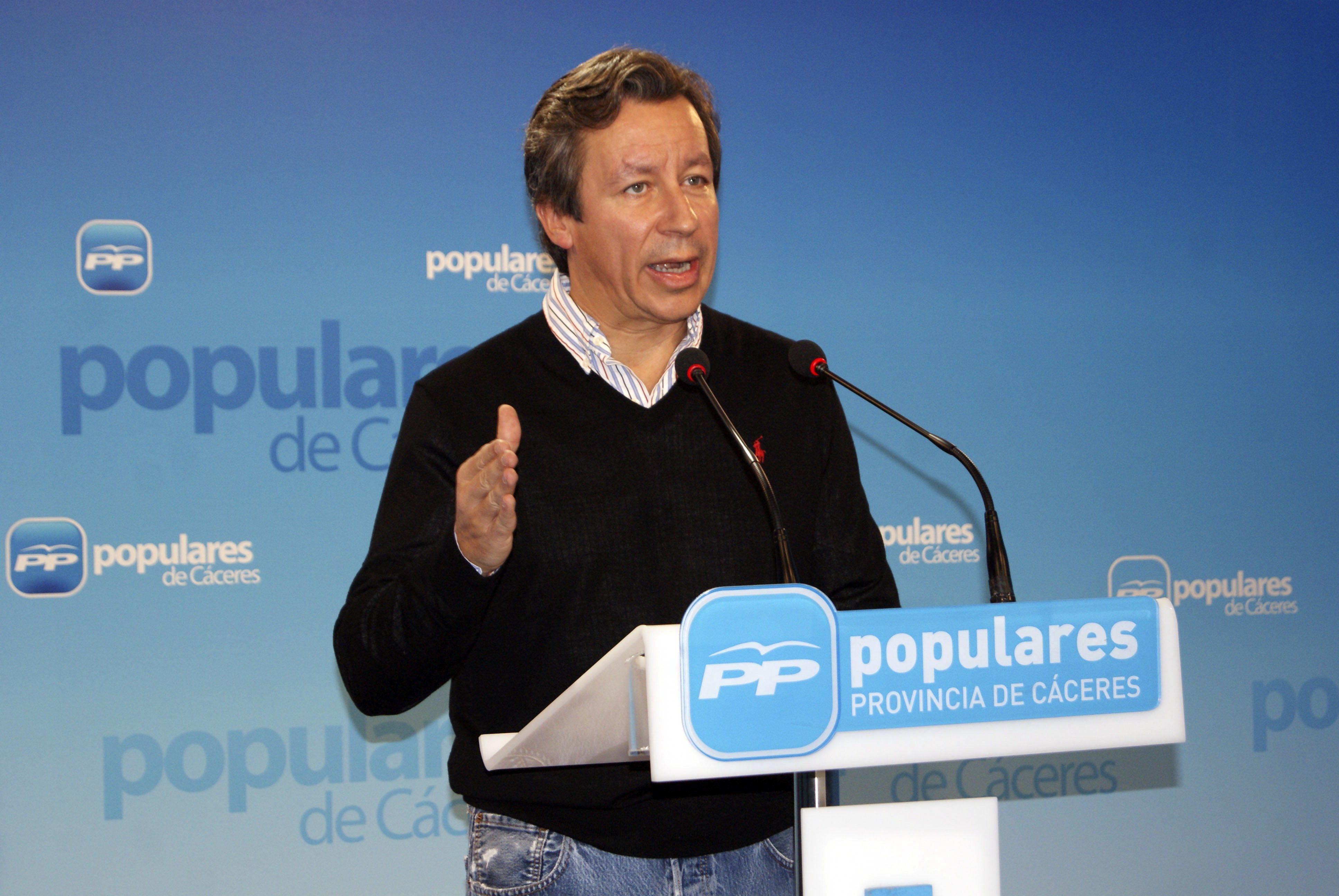 Oyarzábal (PP) vio el discurso del Rey «muy comprometido y pegado al terreno»
