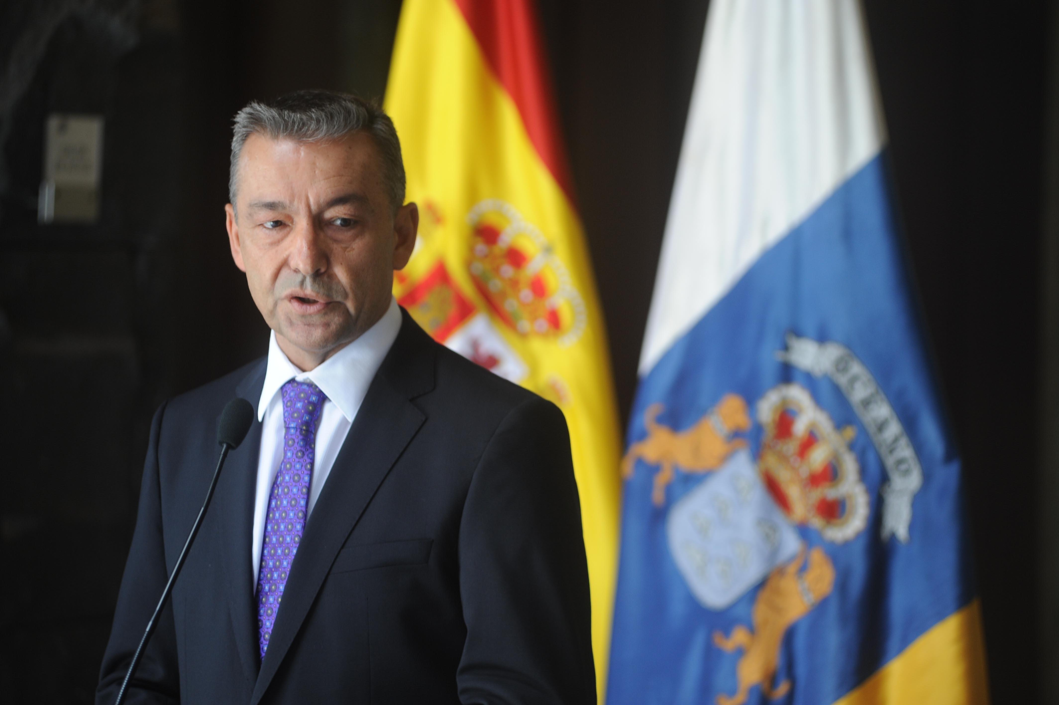 Paulino Rivero destaca que el Rey ha demostrado que «no está mirando hacia otro lado»