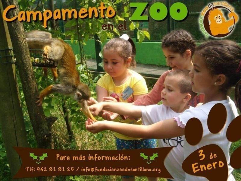 El Zoo de Santillana organiza un campamento infantil el próximo 3 de enero