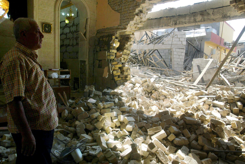 Al menos 14 muertos y 31 heridos en un atentado contra una iglesia en Bagdad