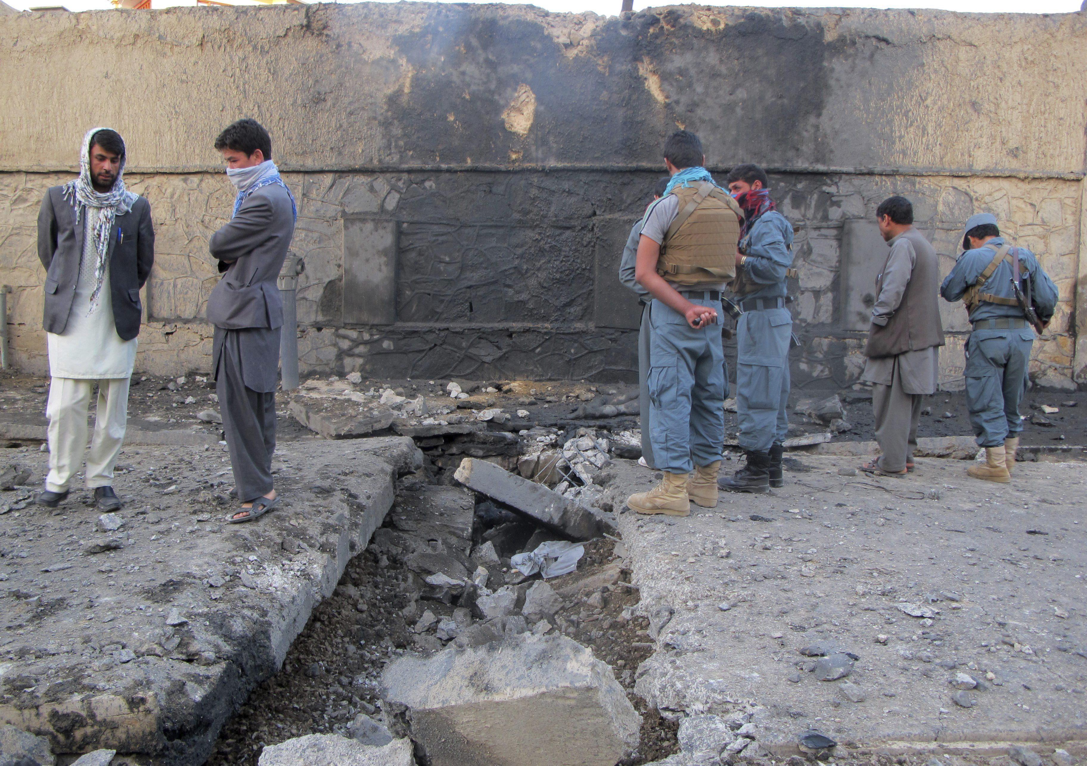 Dos proyectiles impactan contra la embajada de EEUU en Kabul sin causar víctimas