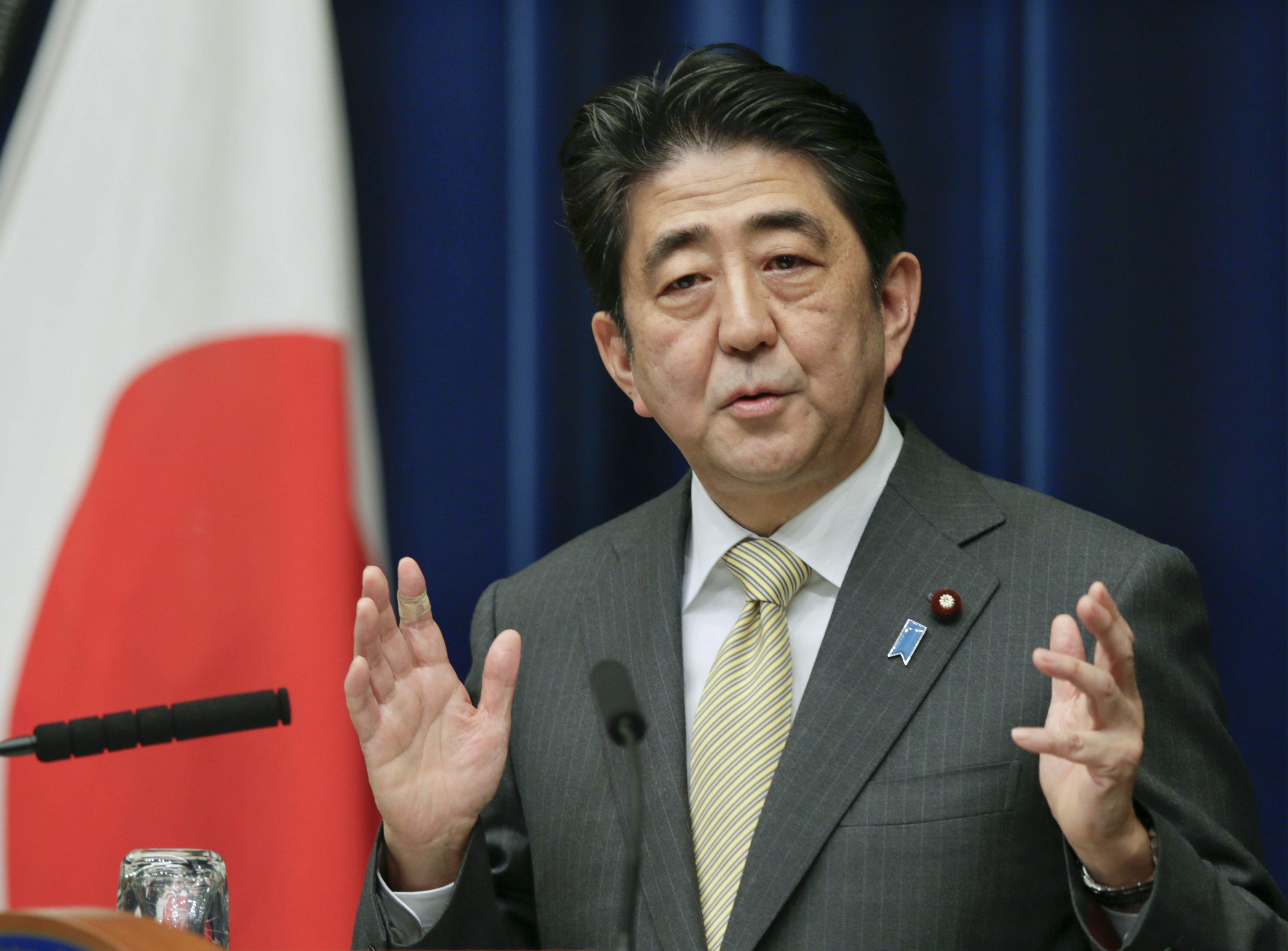 Abe presentará en junio un programa «para acelerar reformas estructurales»