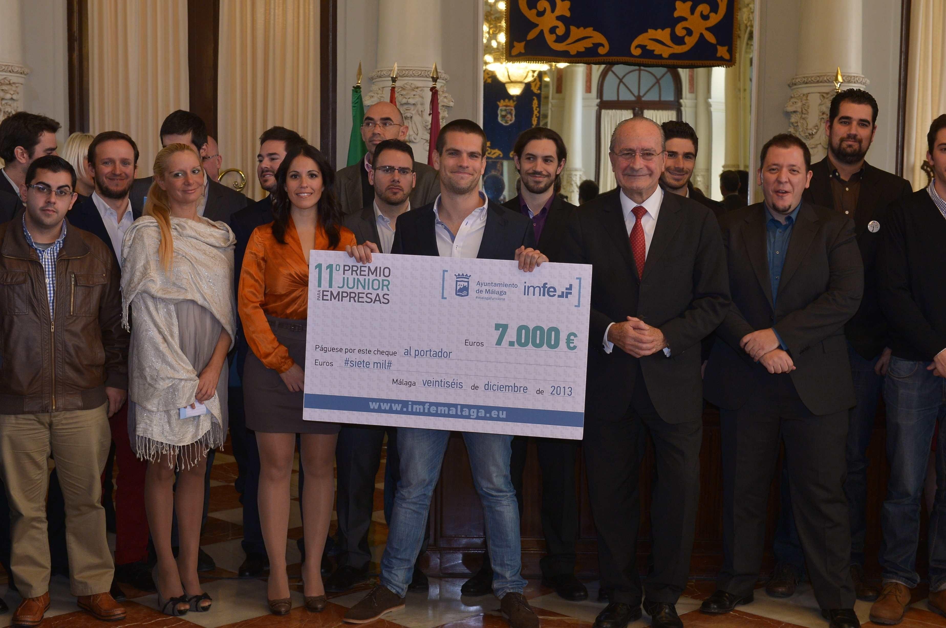 El Ayuntamiento de Málaga entrega el Premio Júnior de Empresas a la compañía textil Texere Sureño