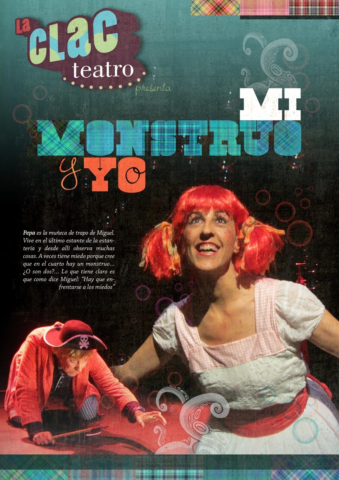 La compañía La Cla representa «Mi monstruo y yo» en el Centro Cívico de San José