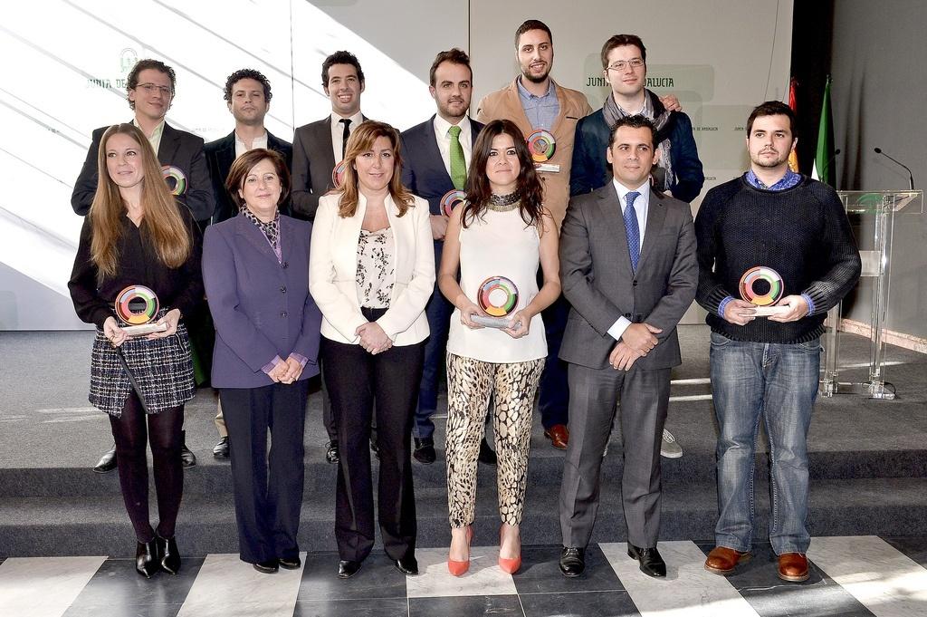 Díaz subraya que «cultura, emprendimiento y jóvenes constituyen prioridades y compromisos del Gobierno andaluz»
