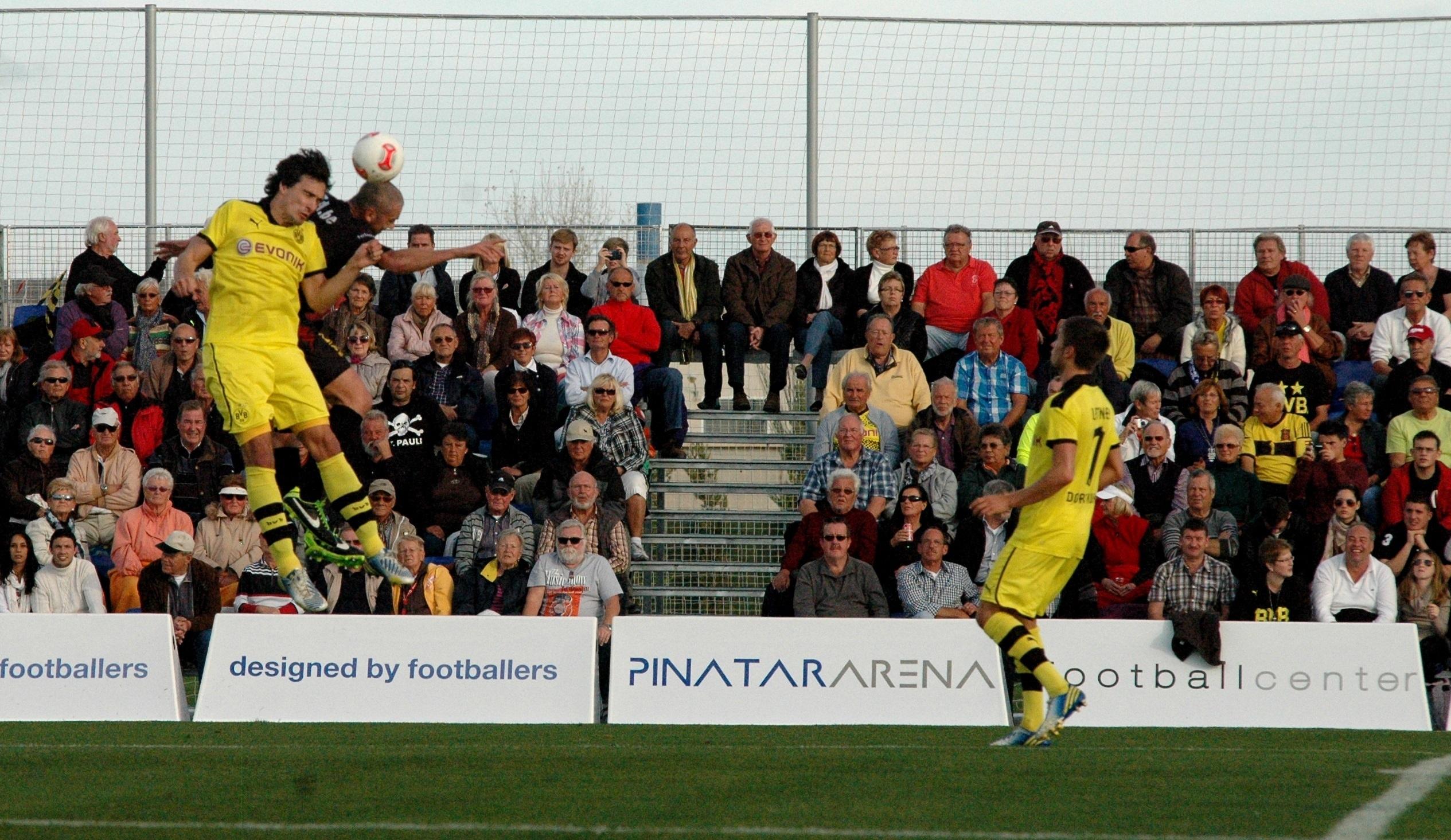 Dortmund, Hoffenheim, Bochum y Rostock se concentrarán en Pinatar Arena
