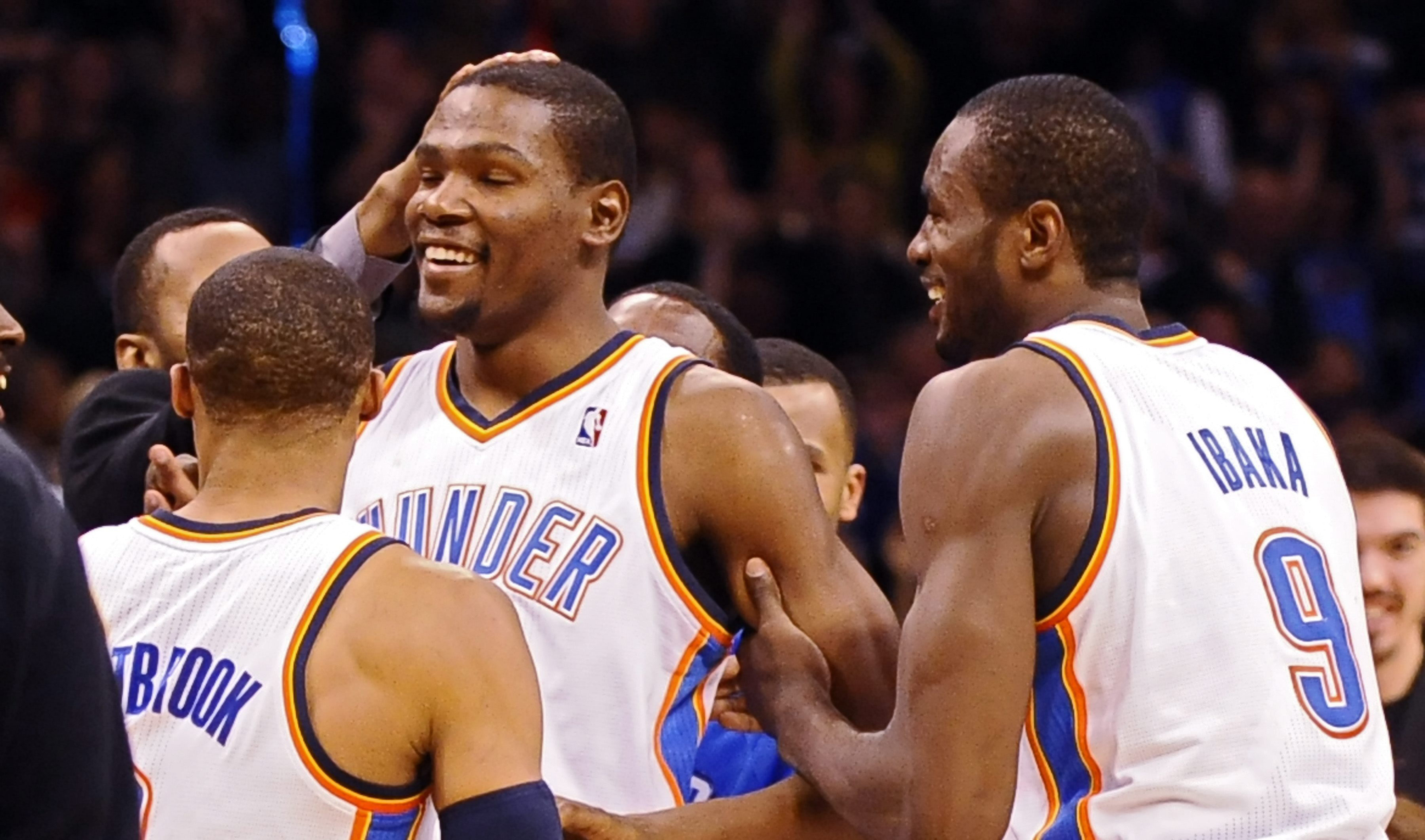 Ibaka y los Thunder se dan un festín navideño ante los Knicks