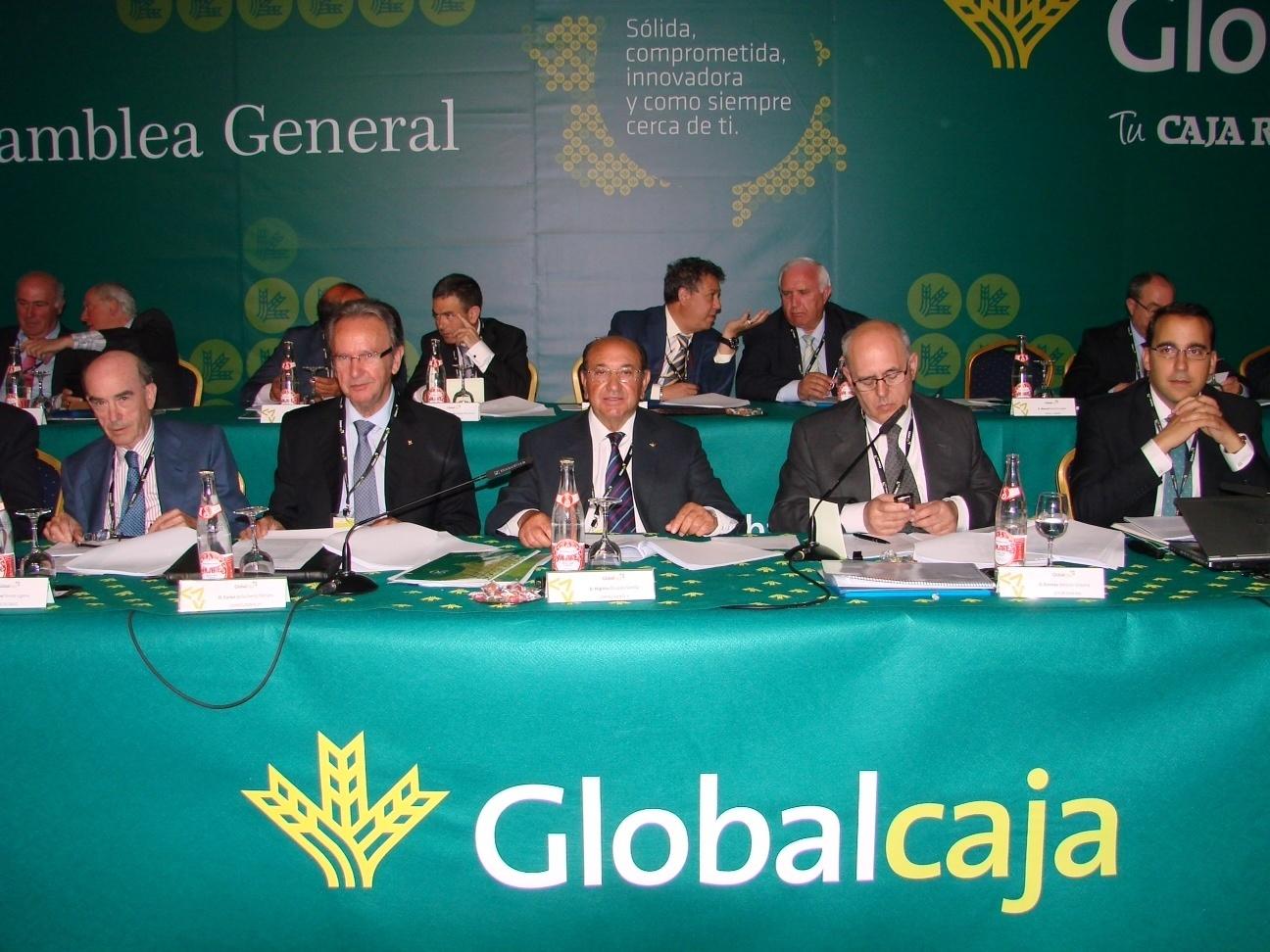 Globalcaja cerrará 2013 con un beneficio previsto de 12 millones de euros, un 15% más que el pasado ejercicio