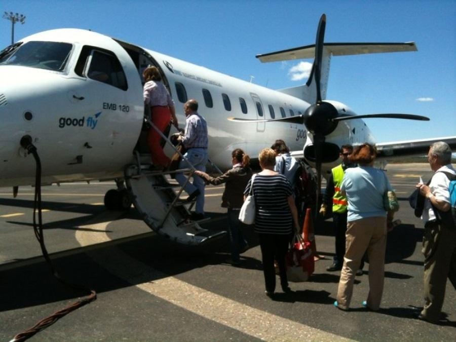 Good Fly operará vuelos a Granada desde Burgos, Valladolid y Lisboa desde este viernes