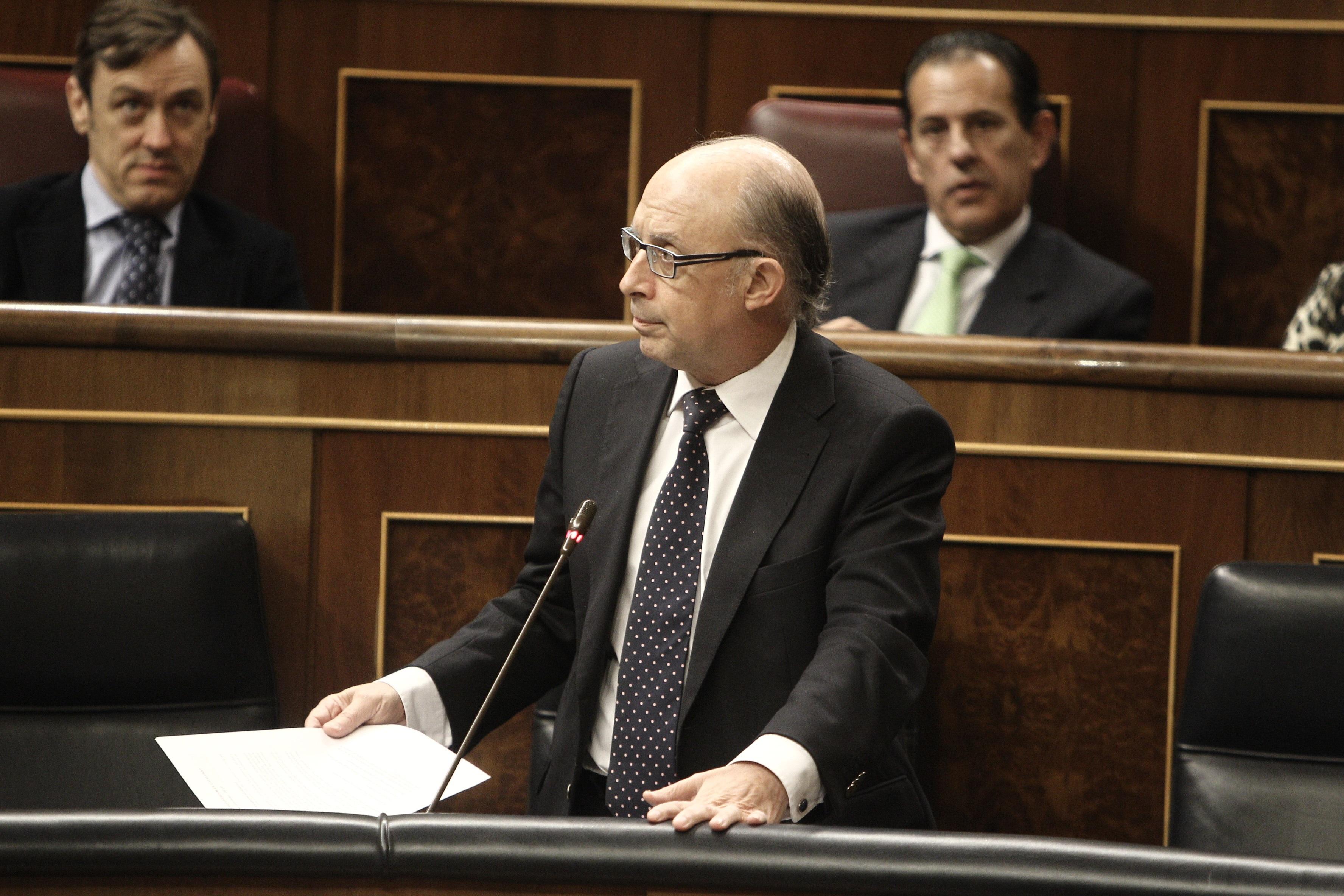 Montoro: Ignacio González piensa que el Ministerio de Hacienda es «la ventanilla» para ser candidato