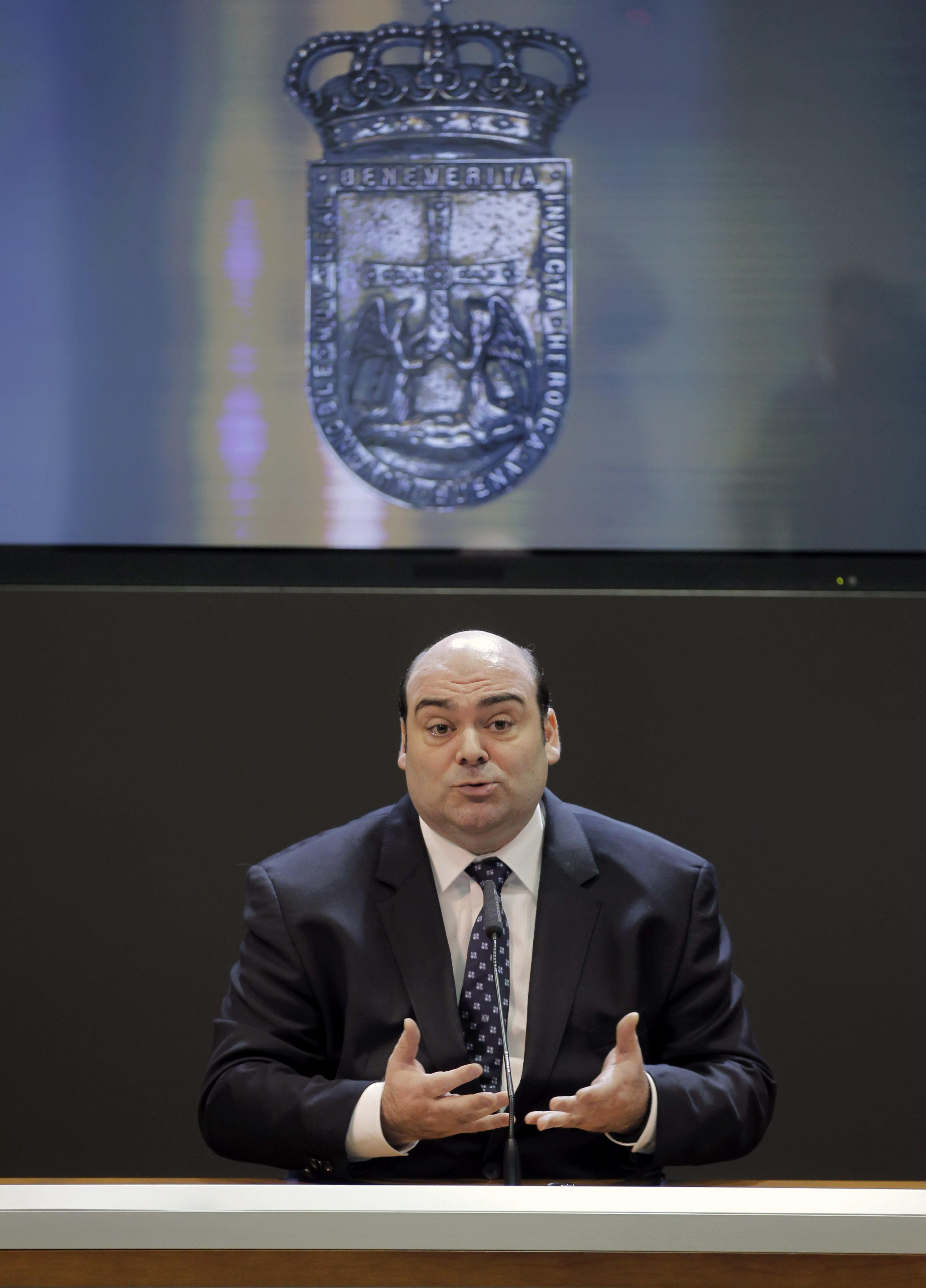 PP e IU pactan para que el Ayuntamiento de Oviedo tenga presupuestos en 2014