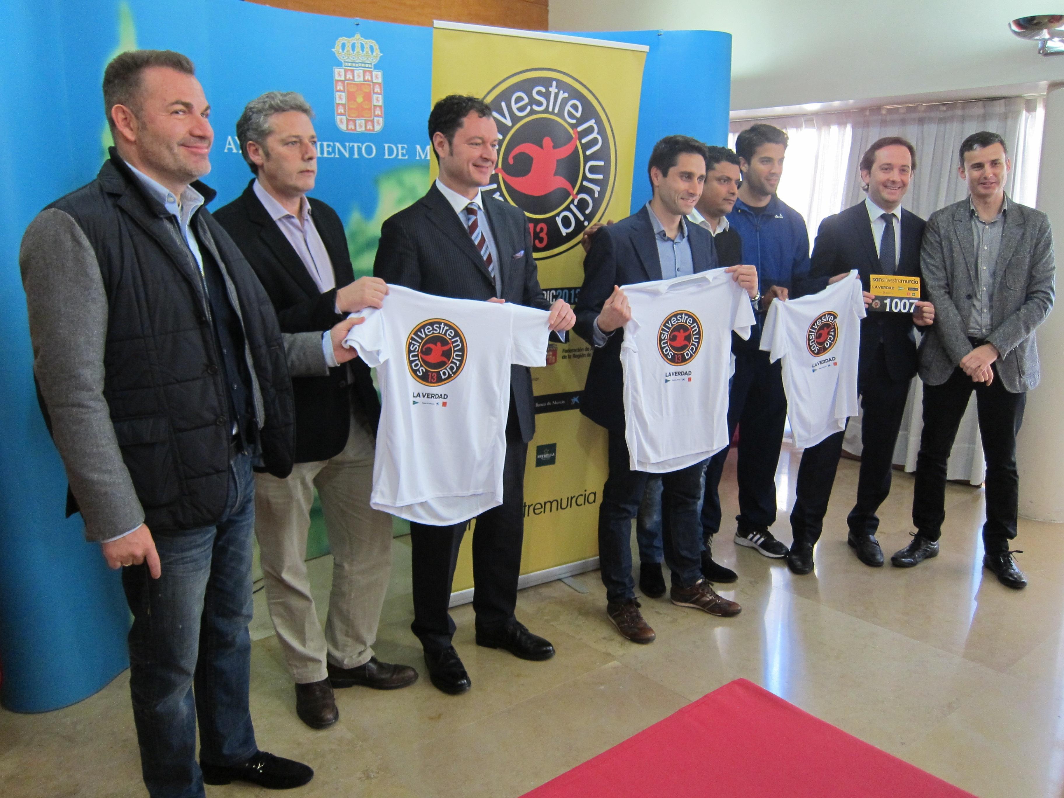 La carrera popular »San Silvestre» de Murcia contará con cerca de 4.000 participantes este año