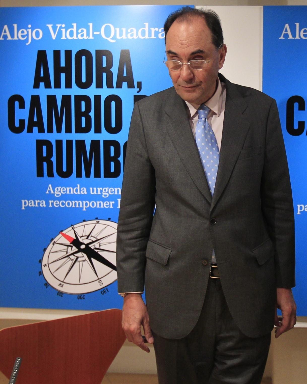 Vidal-Quadras responde al PP que tampoco iría en su lista si se lo ofreciese y no desvela su futuro político