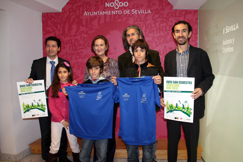 Más de 2.000 corredores despedirán el año 2013 a base de zancadas en la XVIII San Silvestre de Sevilla