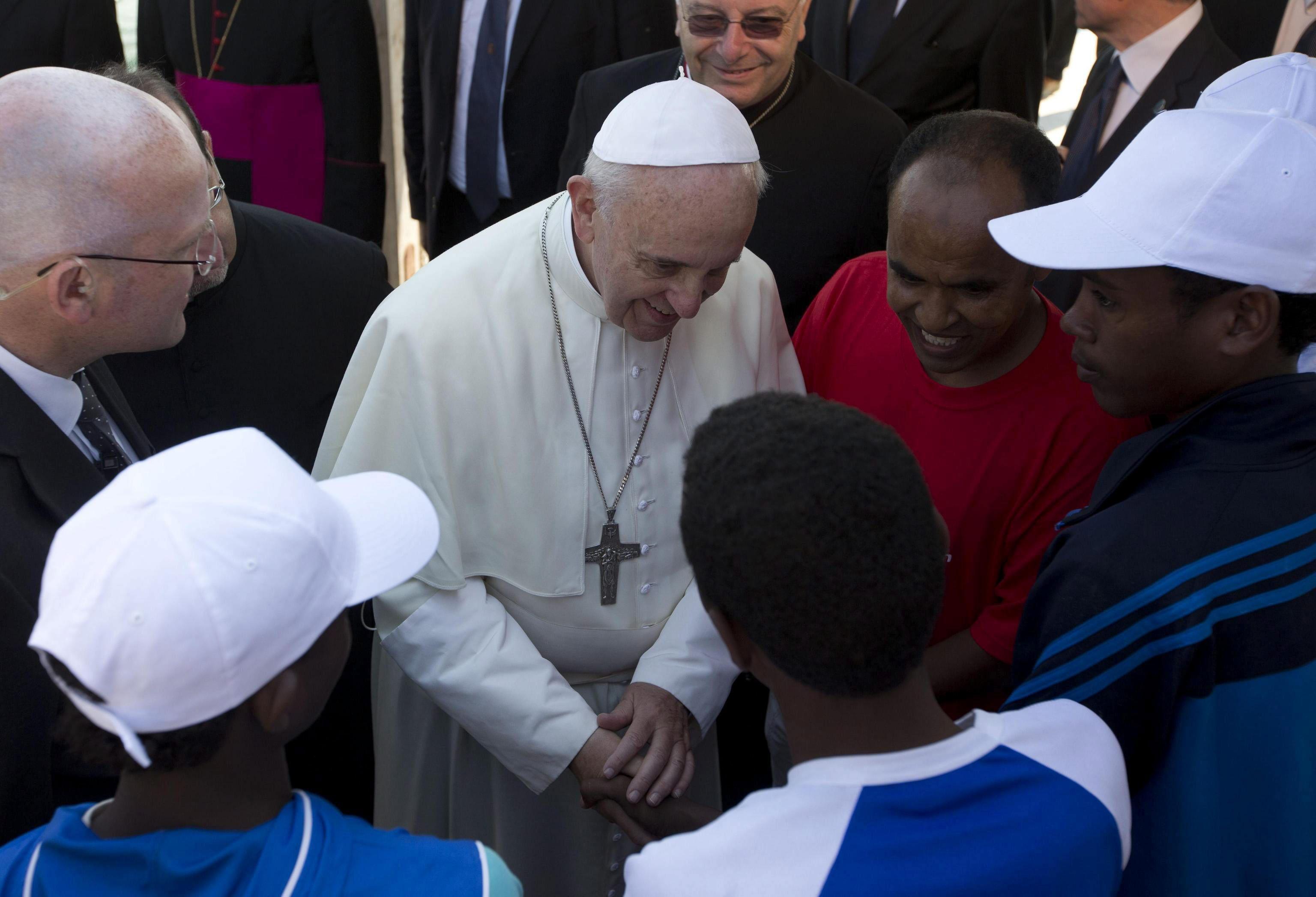 El papa recuerda que no existe la visión endulzada de la Navidad no aparece en el evangelio