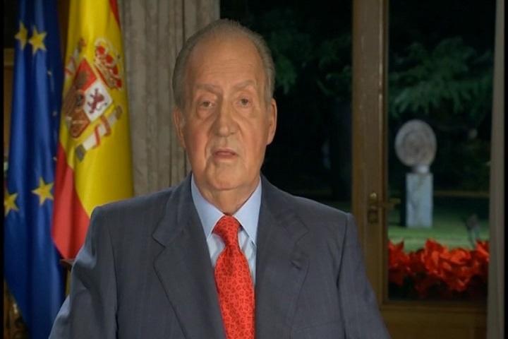 El mensaje del Rey obtuvo en Aragón 206.000 espectadores y una cuota del 70,9 por ciento